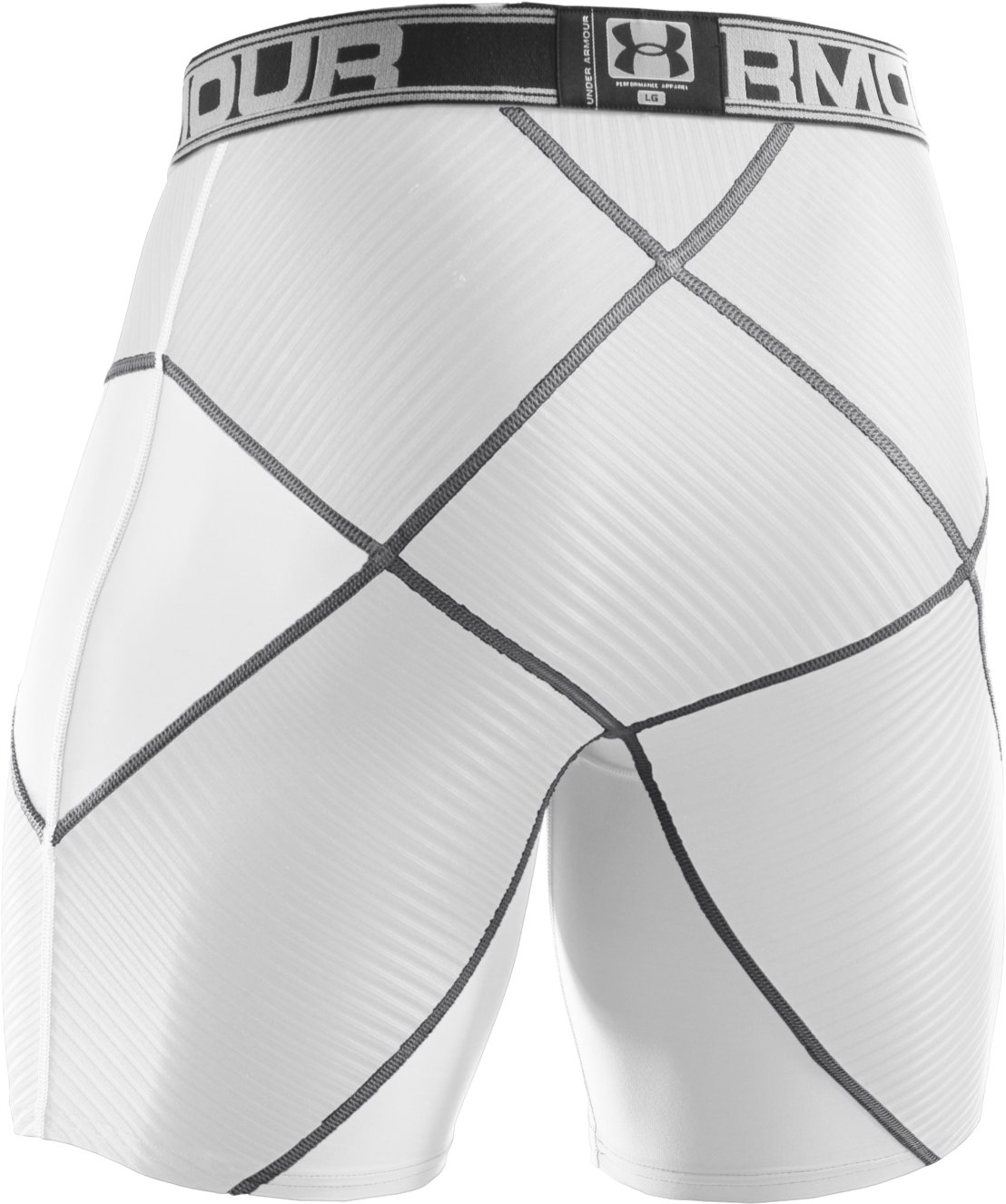 Men's UA Coreshorts Pro, White, undefined