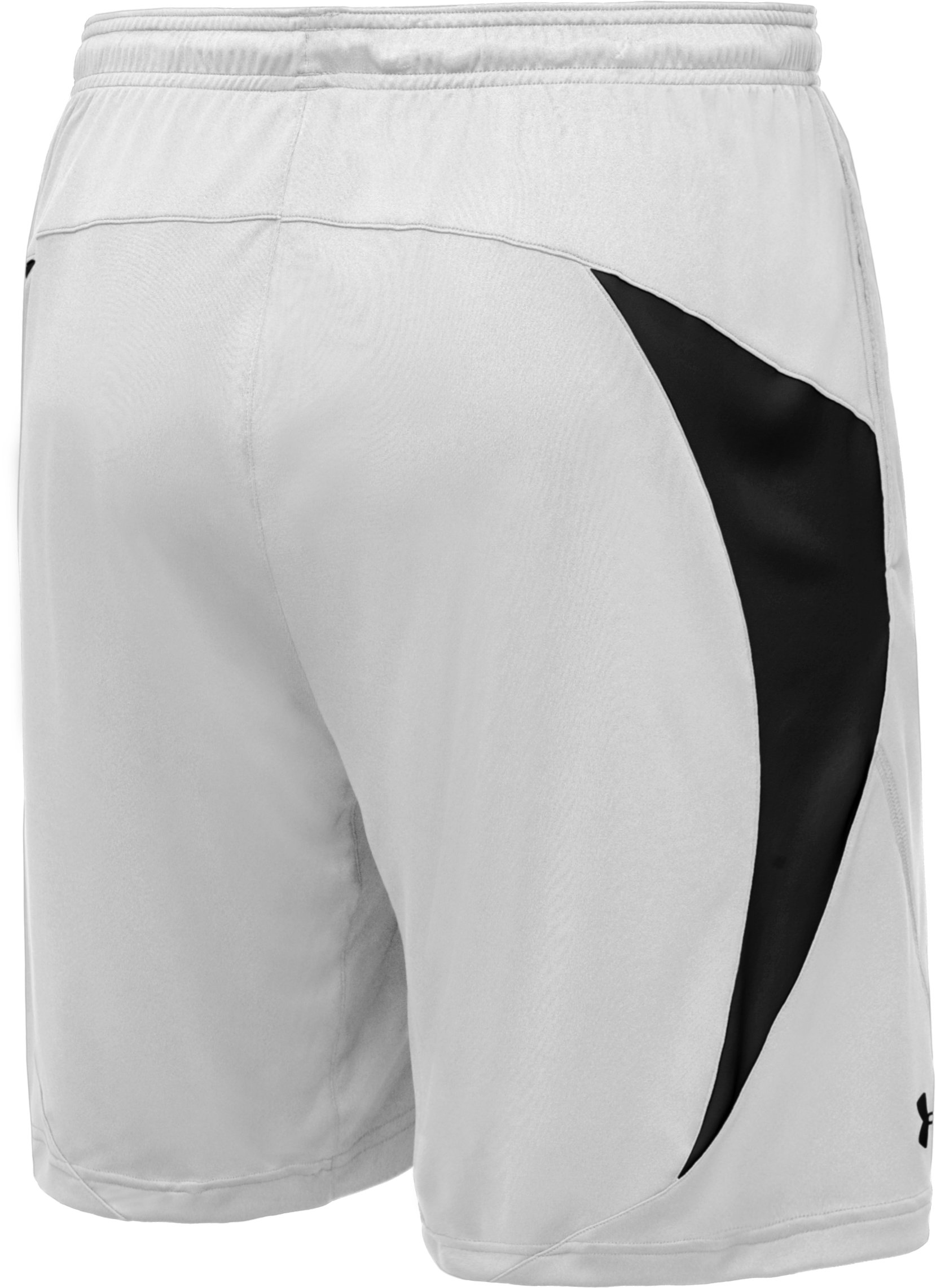 Men's UA Edge Shorts, White, undefined