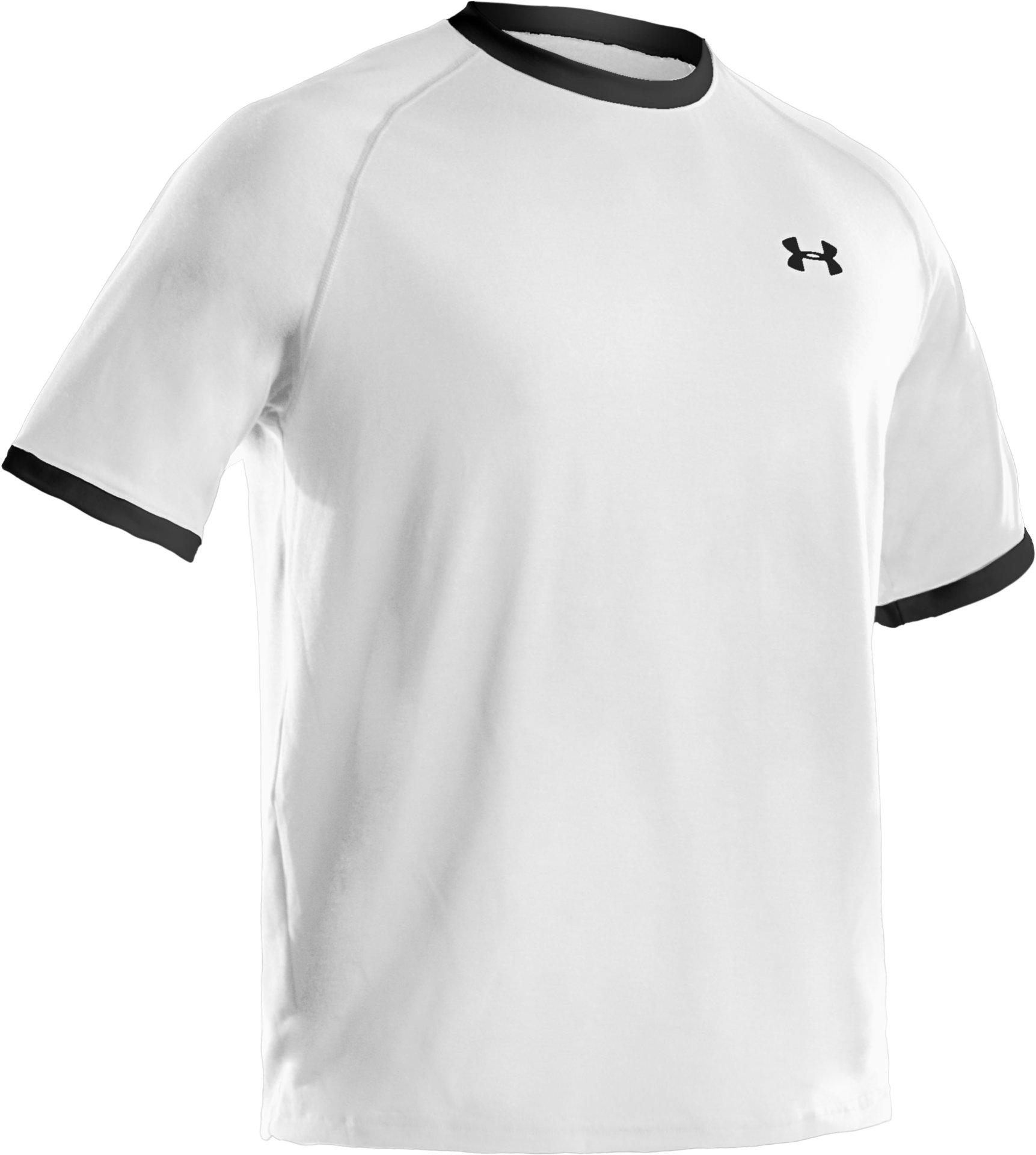 Men's UA Tech™ Ringer T, White