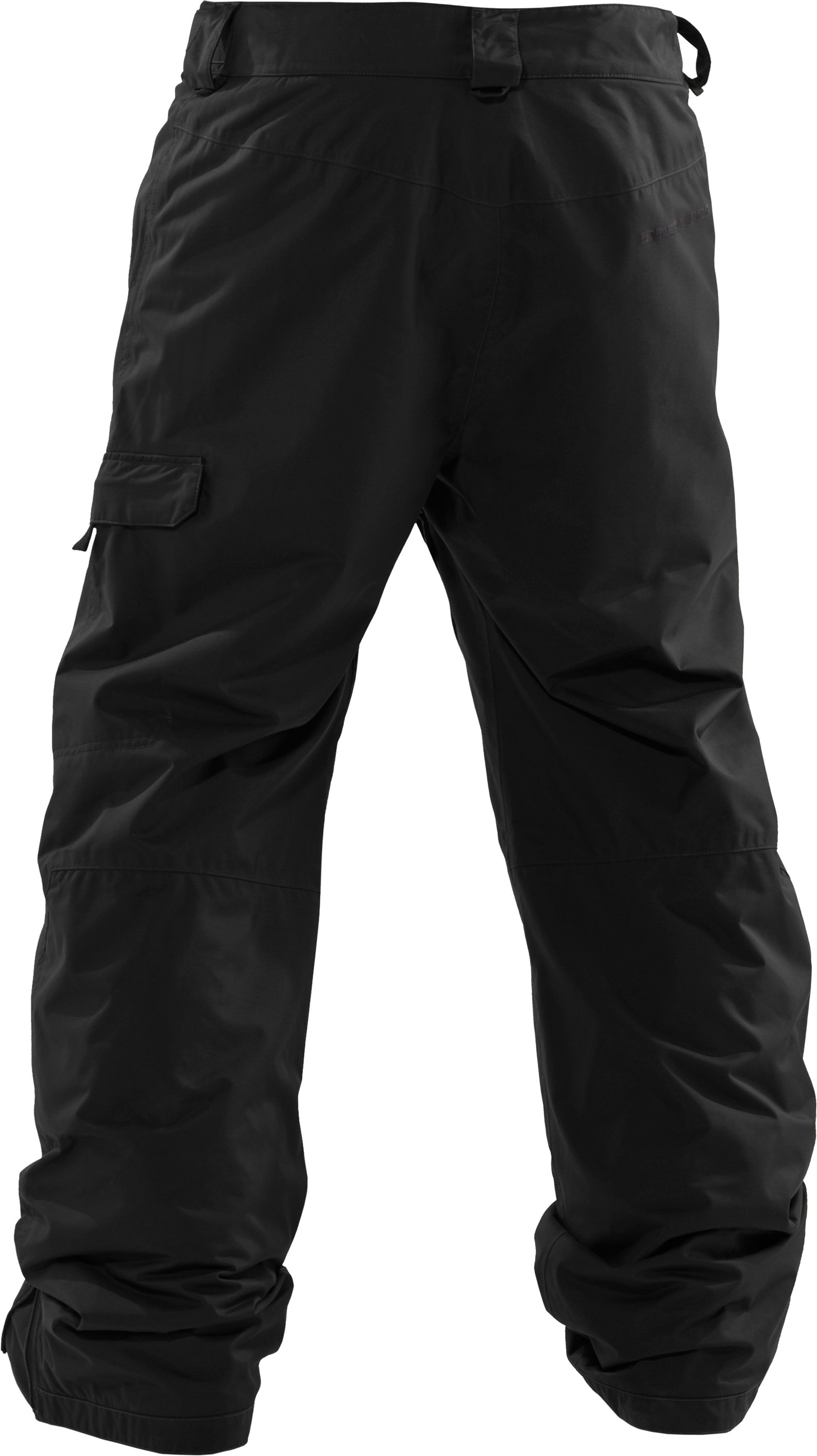 "Men's UA Flow Field 32"" Ski/Snowboard Pants, Black"