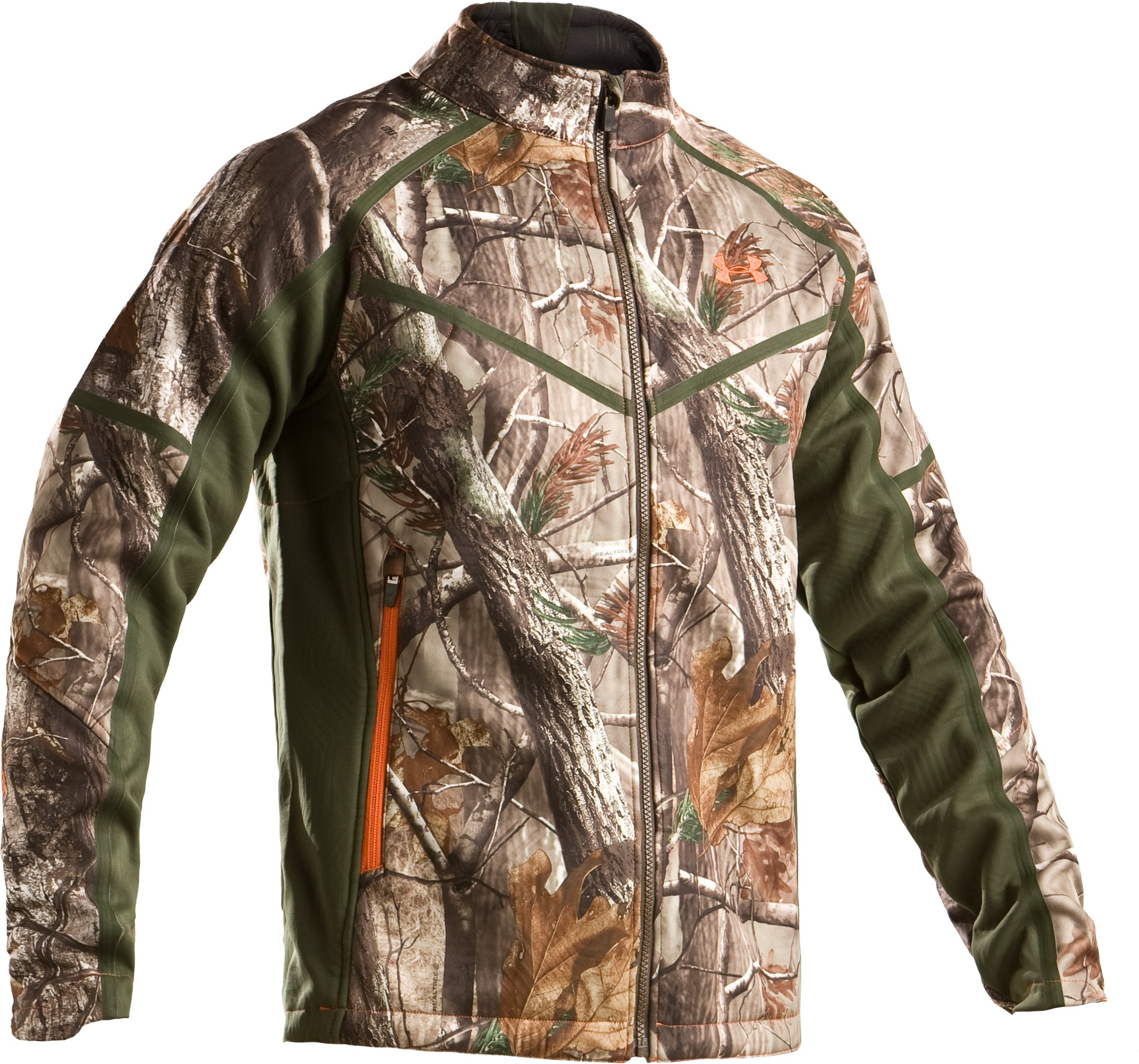 Men's Ridge Reaper® Softshell Camo Hunting Jacket, Realtree AP