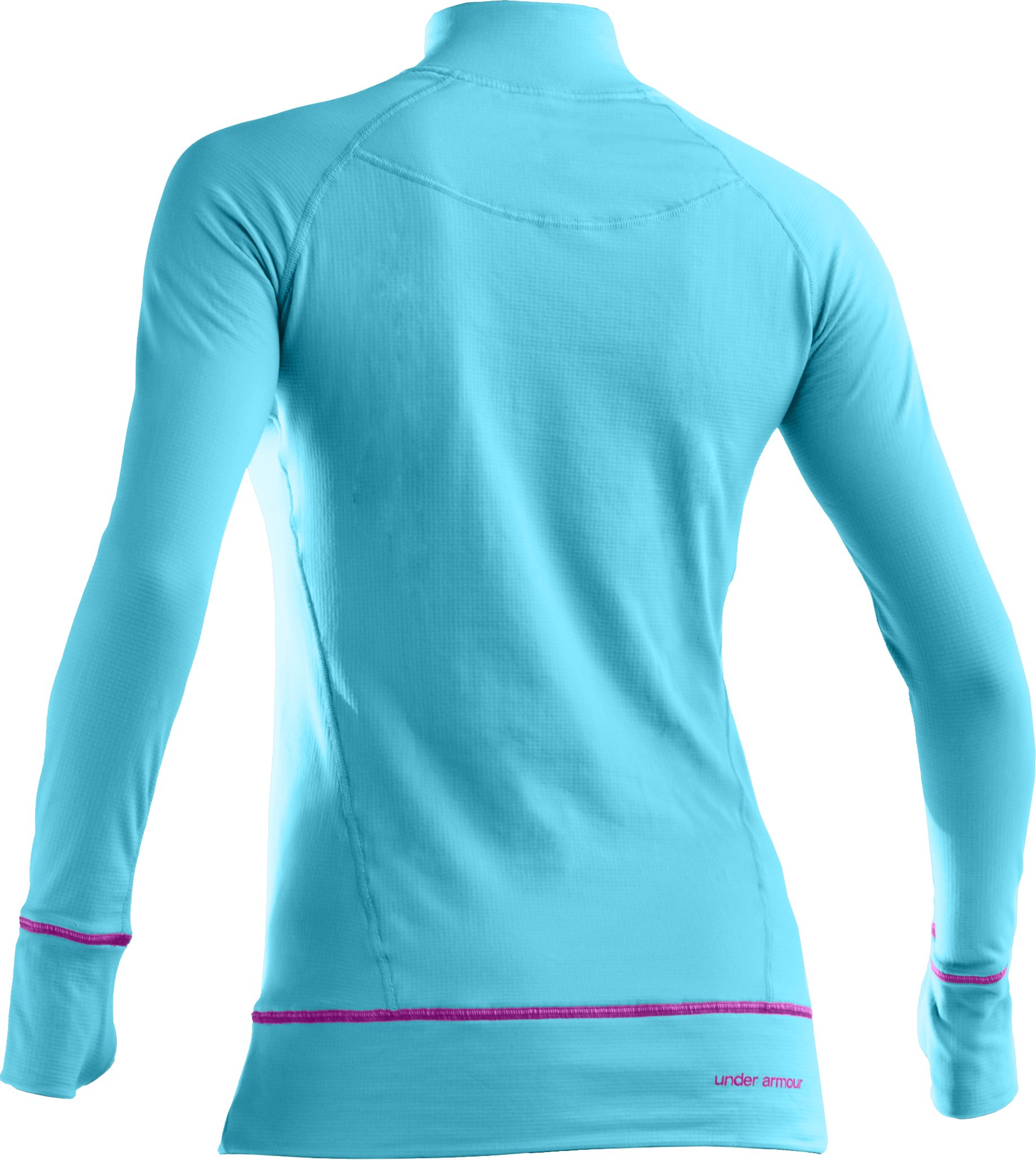 Women's UA Base® 2.0 Long Sleeve Crew, Bright Sky