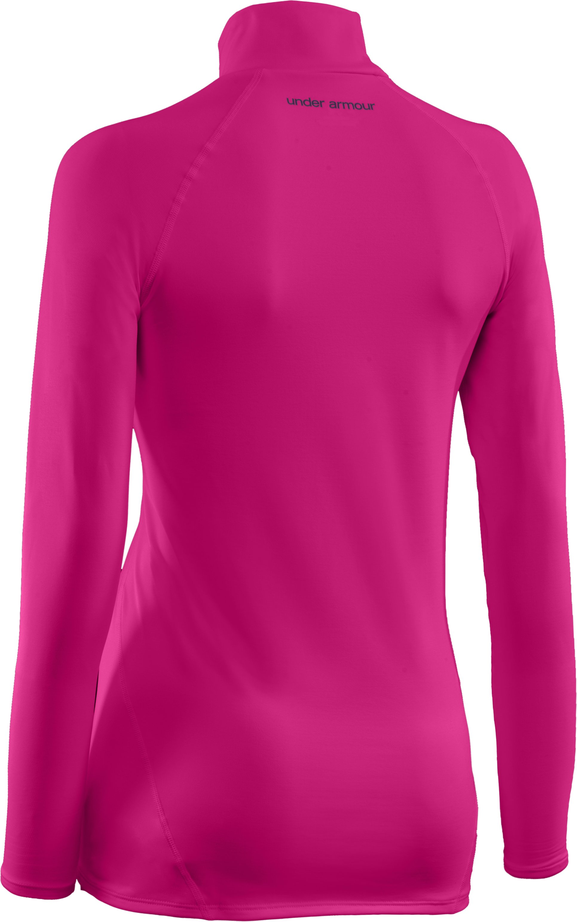 Women's UA EVO ColdGear® Long Sleeve Mock, Honeysuckle