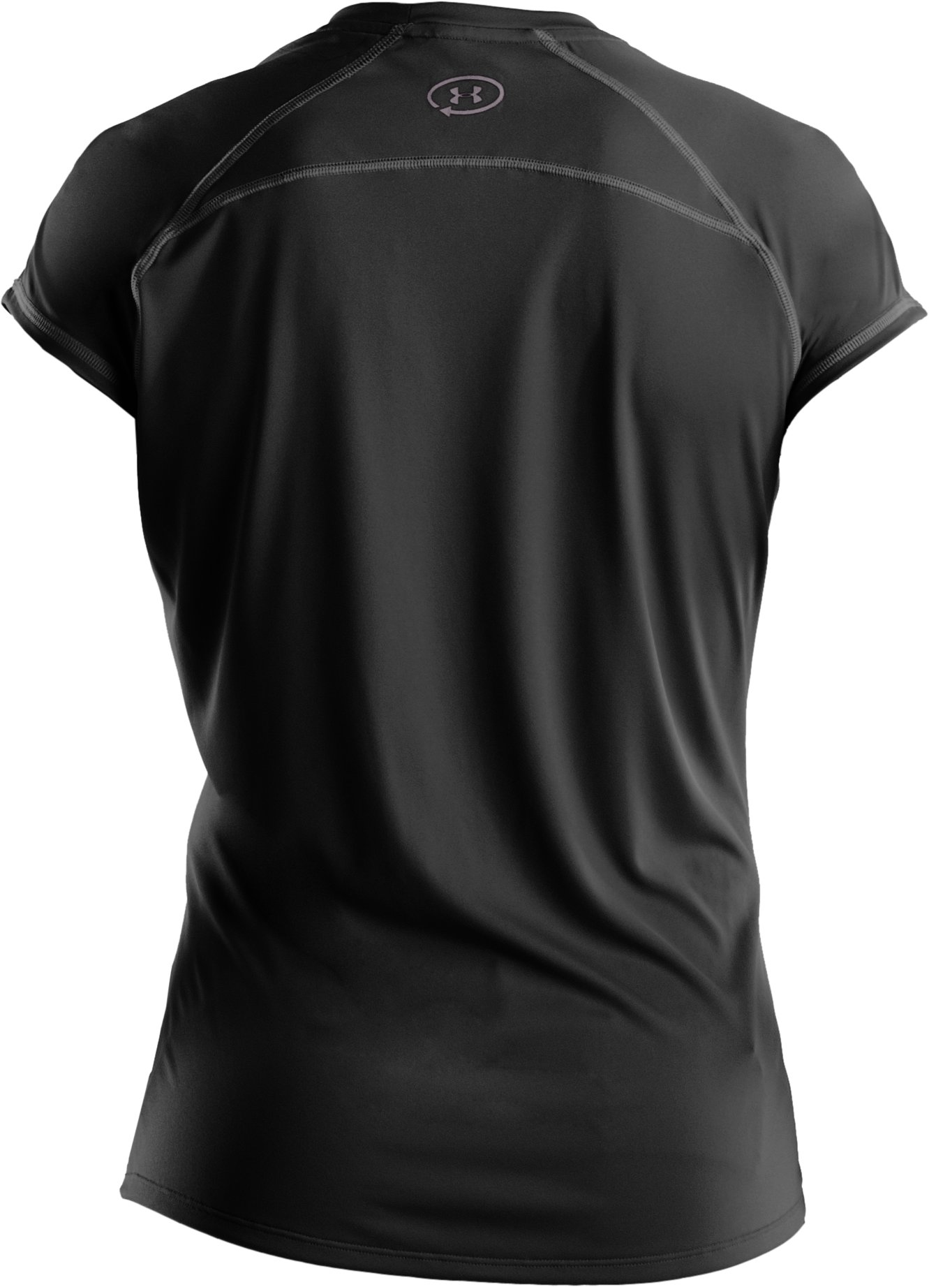 Women's UA Catalyst Short Sleeve T-Shirt, Black