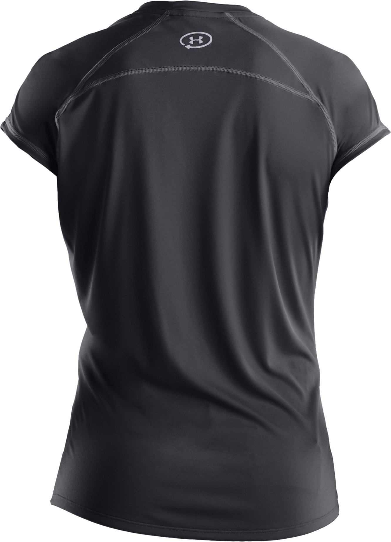 Women's UA Catalyst Short Sleeve T-Shirt, Coal,