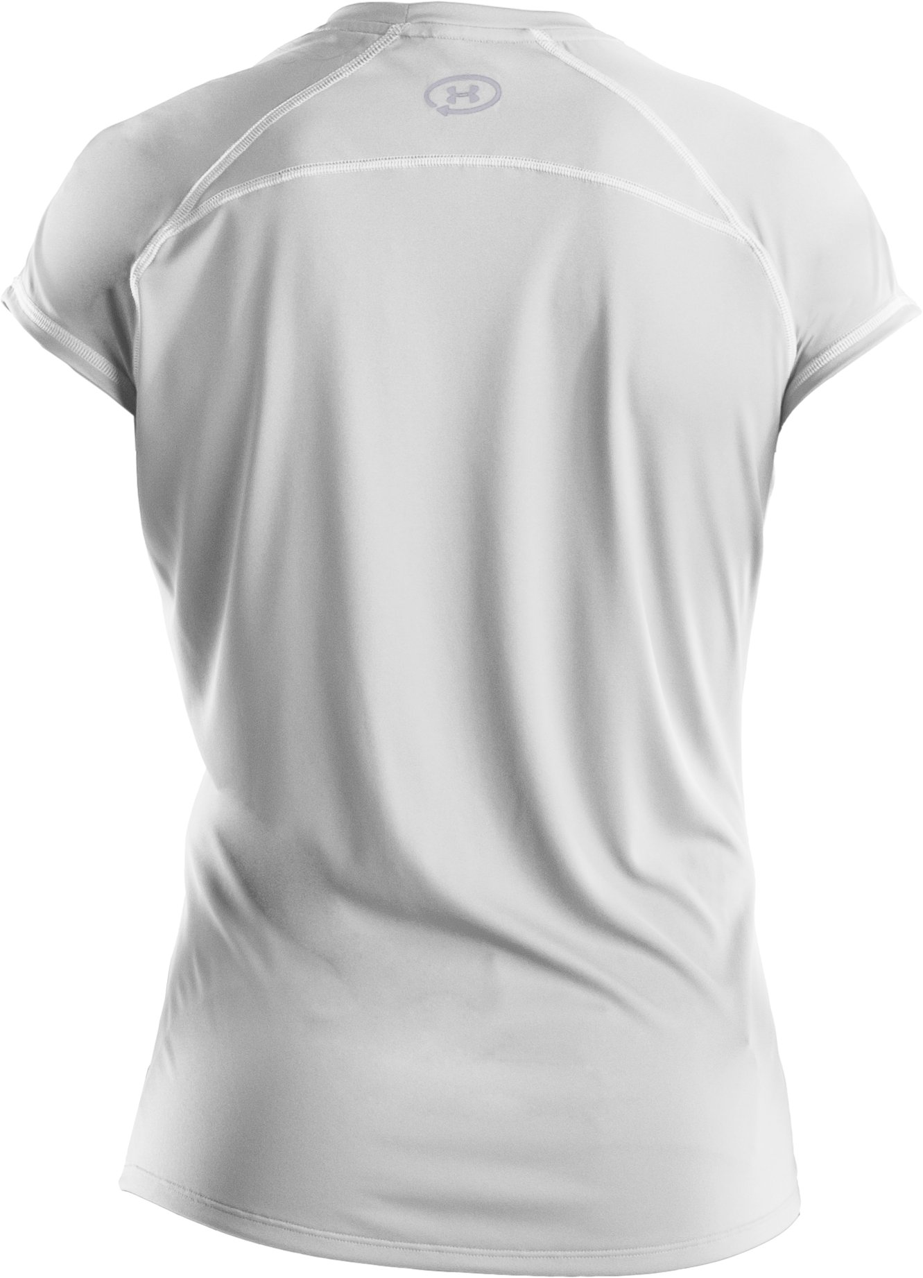 Women's UA Catalyst Short Sleeve T-Shirt, White, undefined