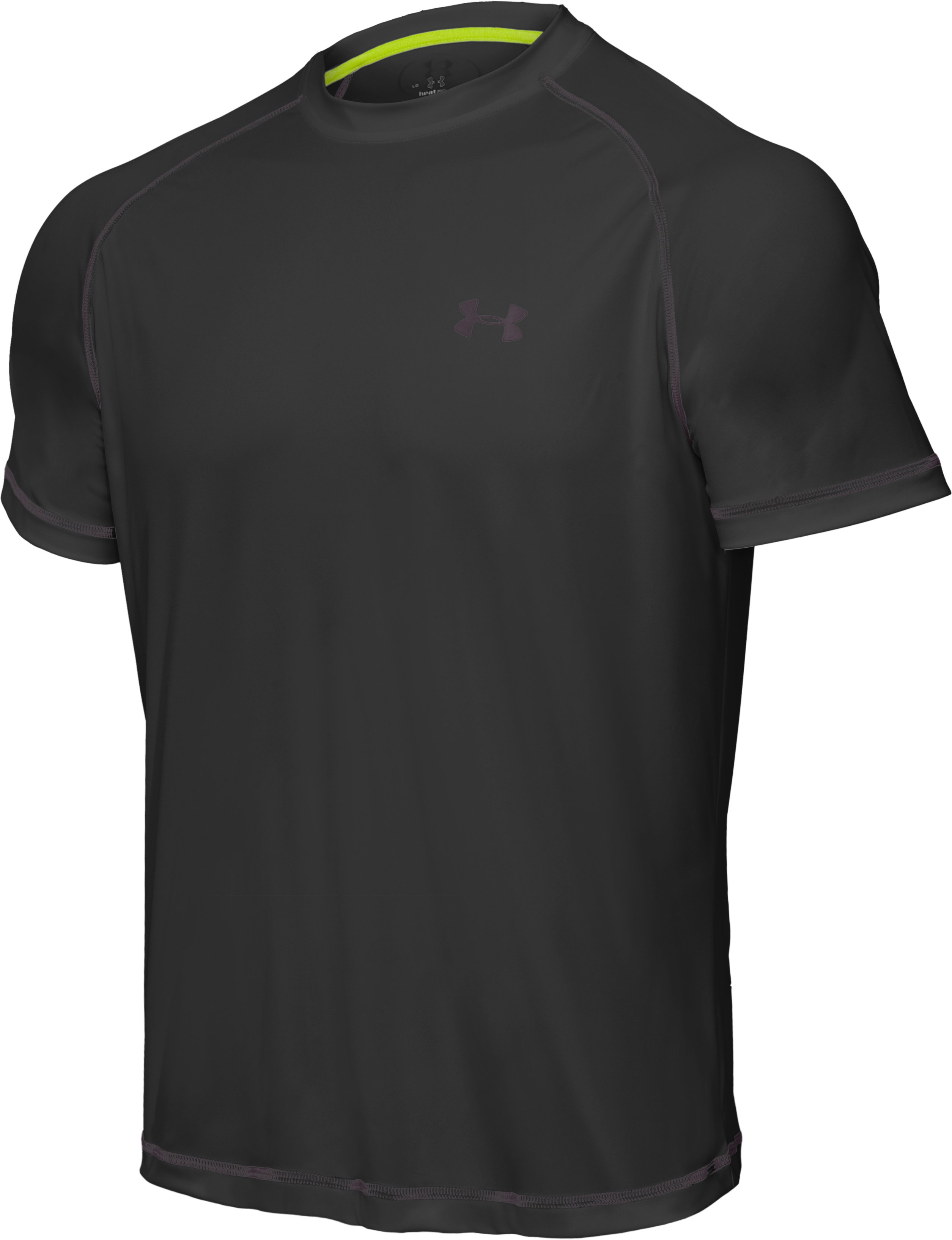 Men's UA Catalyst Short Sleeve T-Shirt, Black