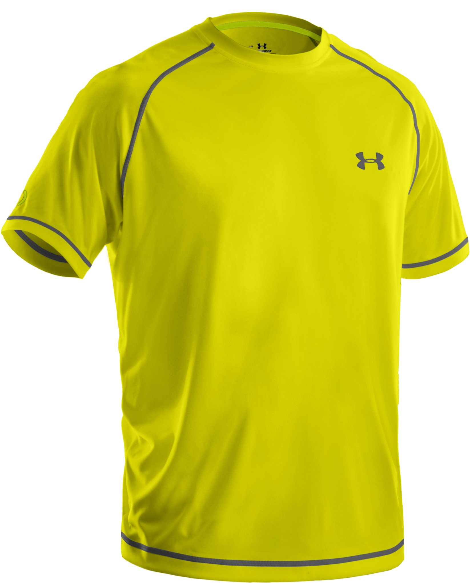 Men's UA Catalyst Short Sleeve T-Shirt, Flash Light