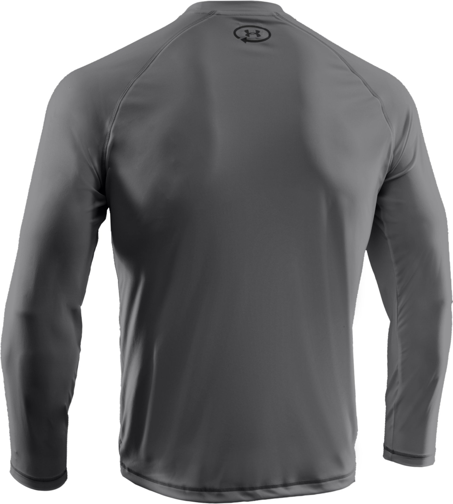 Men's UA Catalyst Long Sleeve T-Shirt, Graphite, undefined