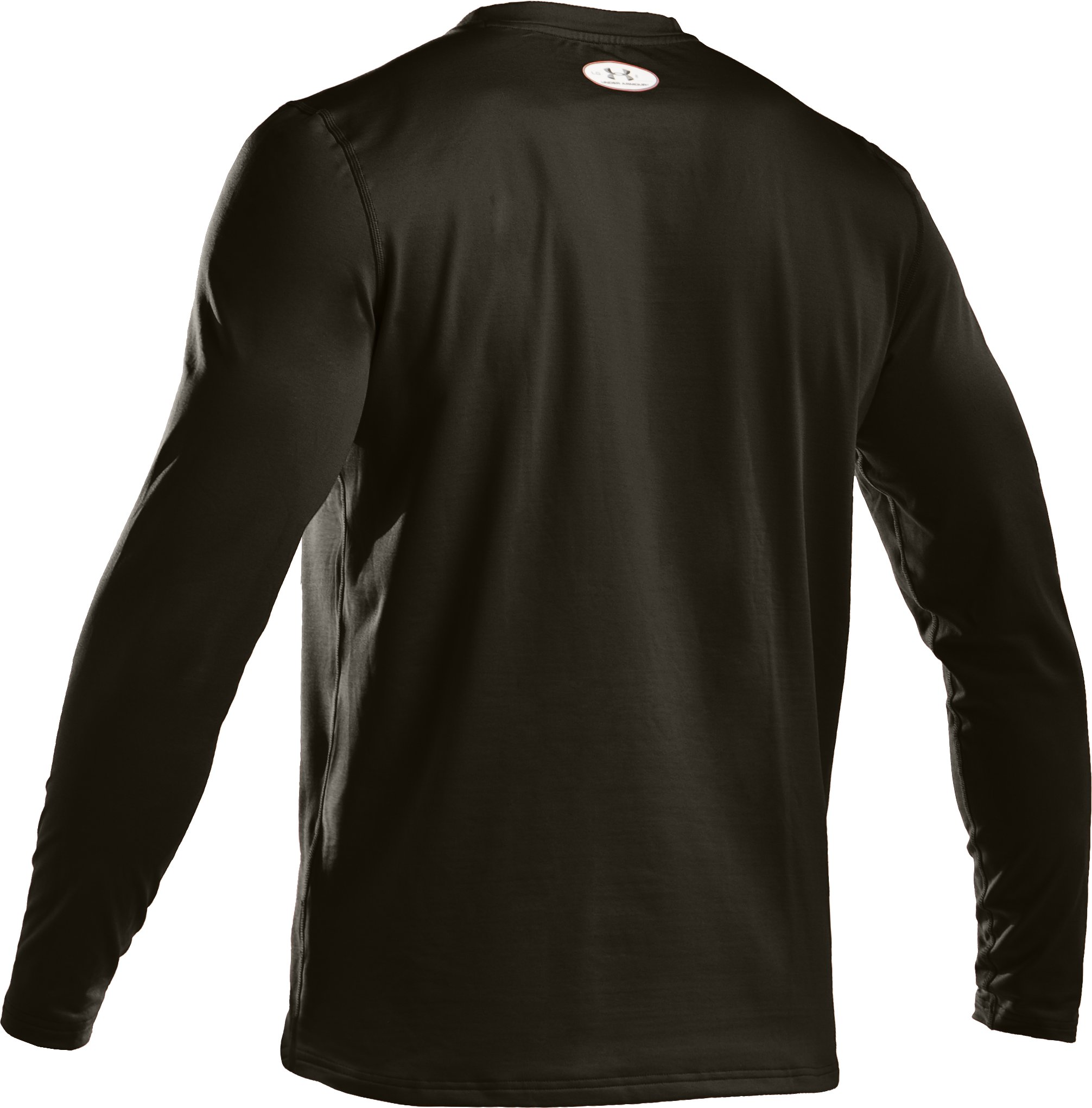 Men's UA EVO ColdGear® Fitted Long Sleeve Crew, Rifle Green