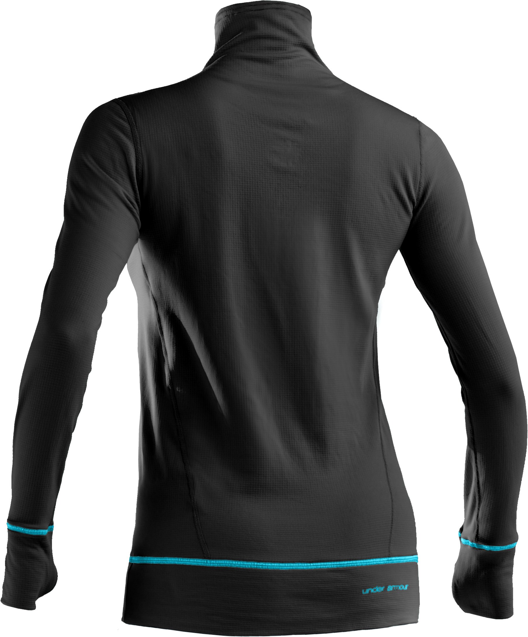 Women's UA Base™ 2.0 Turtleneck, Black ,
