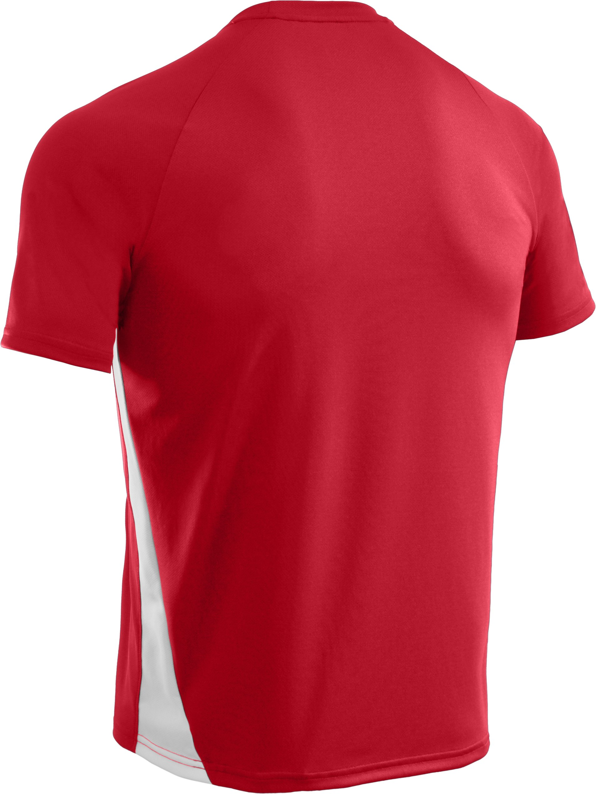 Men's UA Clutch Short Sleeve Jersey, Red,