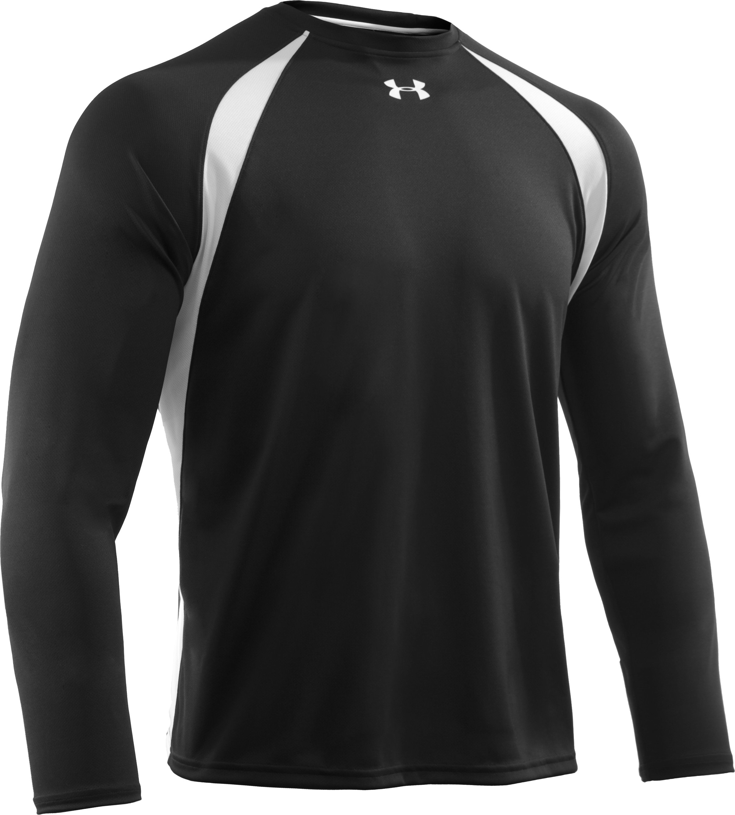 Men's UA Clutch Long Sleeve T, Black , undefined