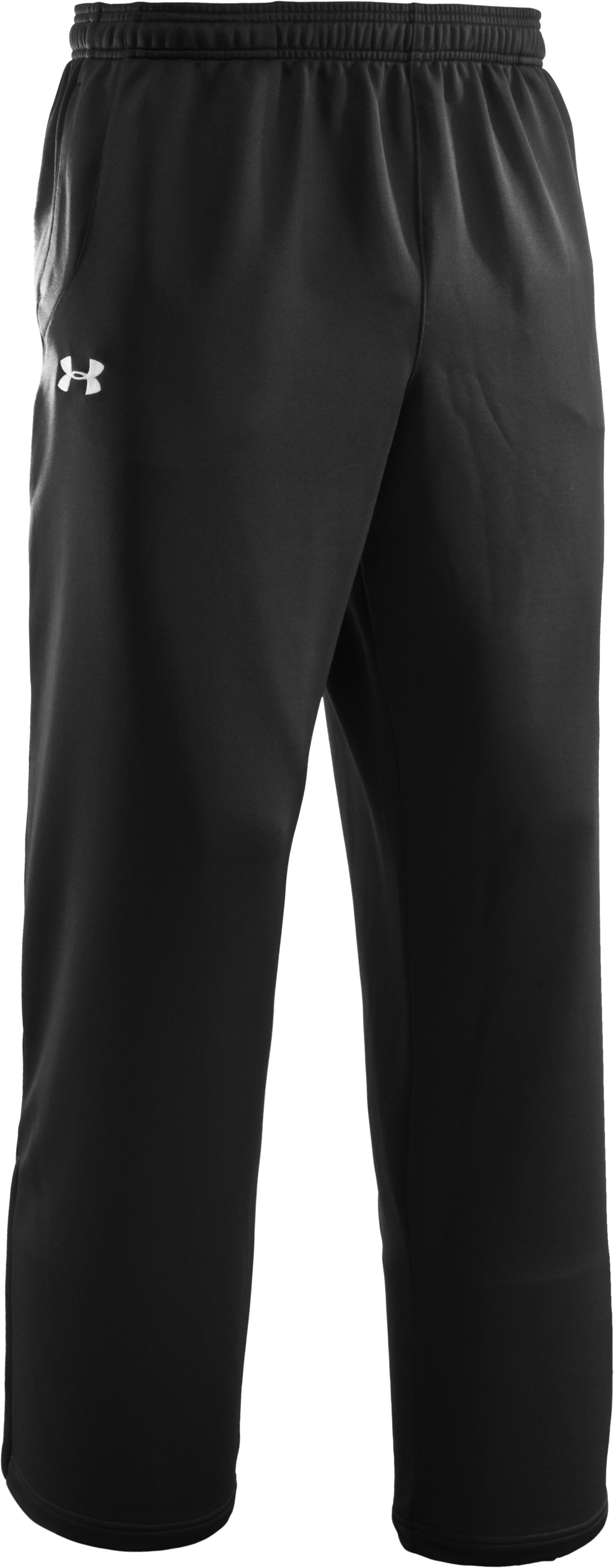 Men's UA Scout Knit Pants, Black , undefined