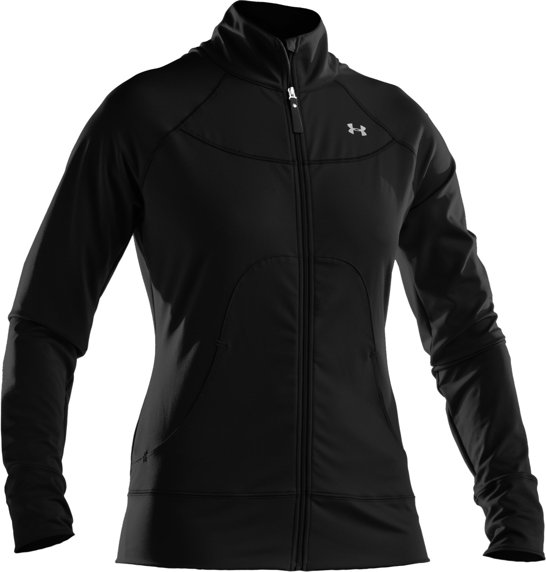 Women's UA Form Full Zip Jacket, Black , undefined
