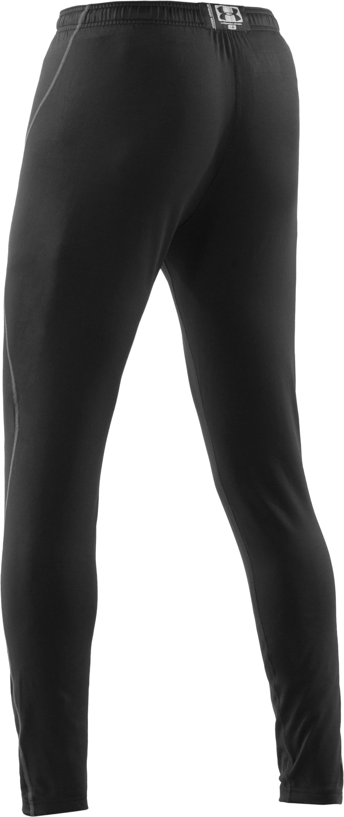 Men's ColdGear® EVO Fitted Leggings, Black