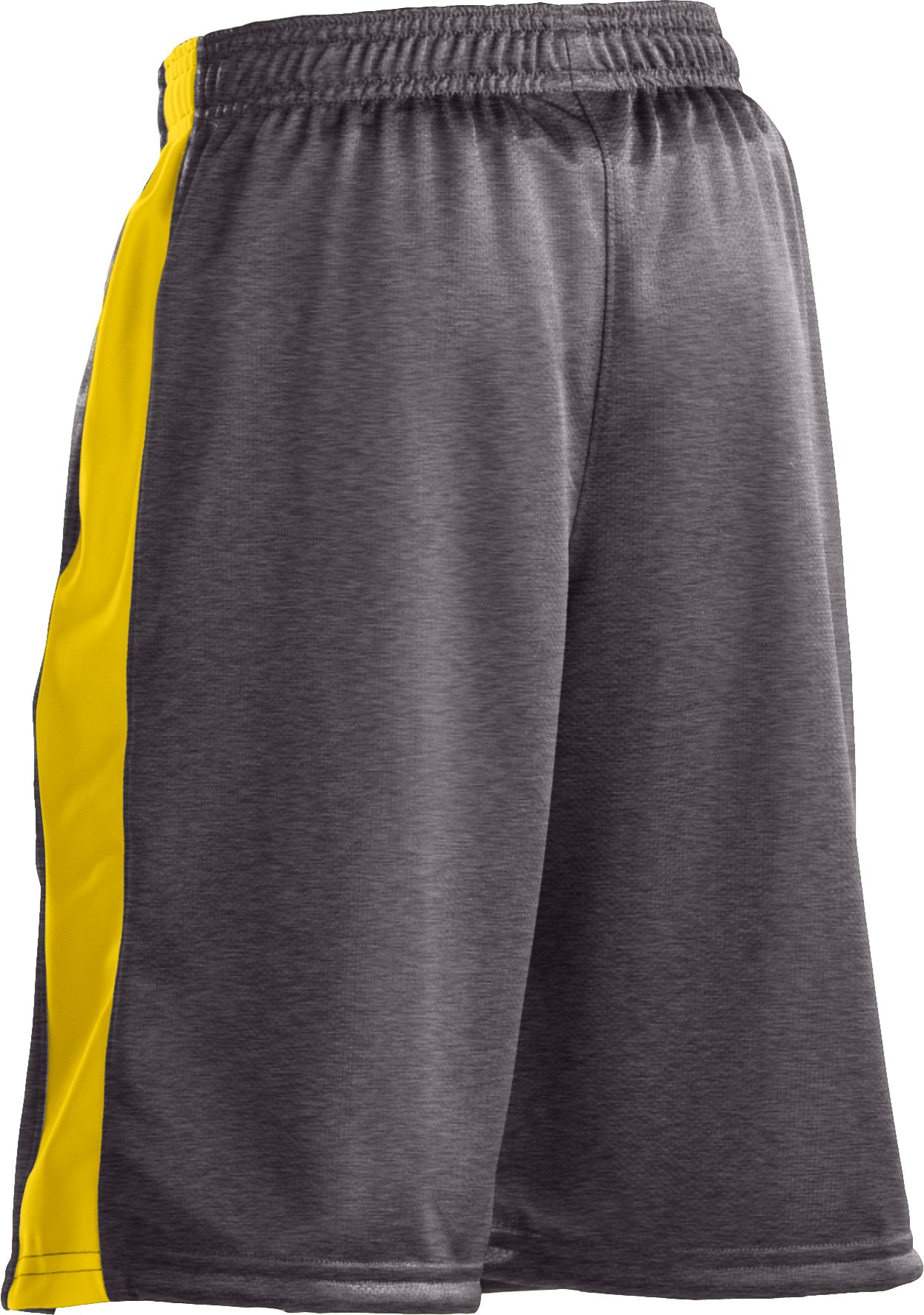 "Boys' UA Ultimate 9"" Shorts, Charcoal"