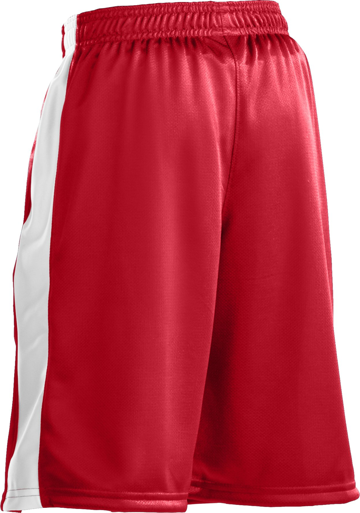 "Boys' UA Ultimate 9"" Shorts, Red, zoomed image"