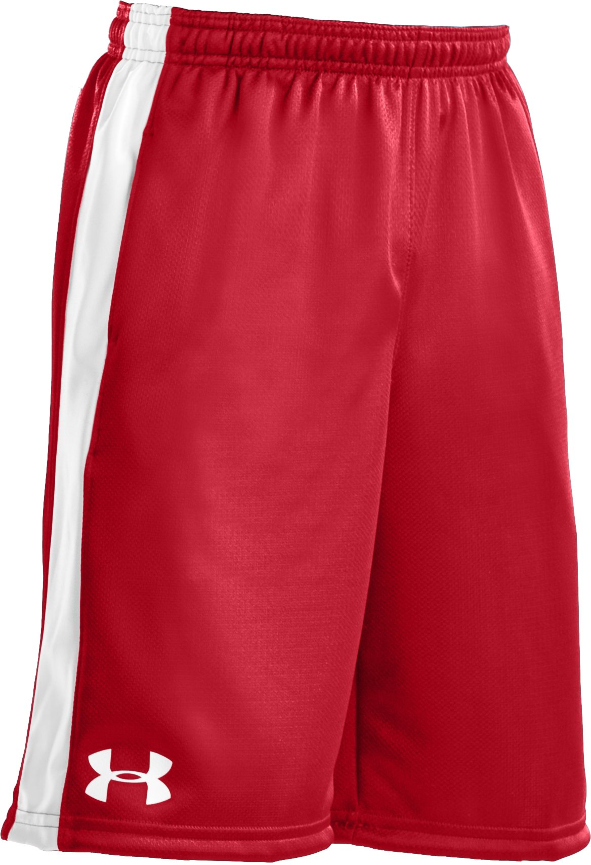 "Boys' UA Ultimate 9"" Shorts, Red"