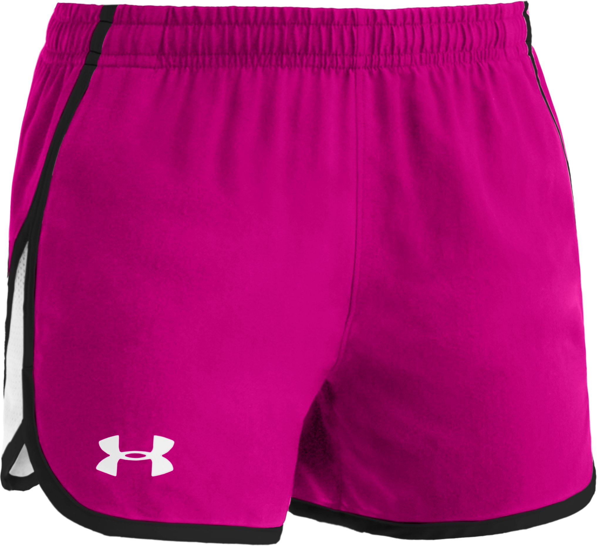 "Girls' UA Escape 3"" Shorts, Tropic Pink, undefined"
