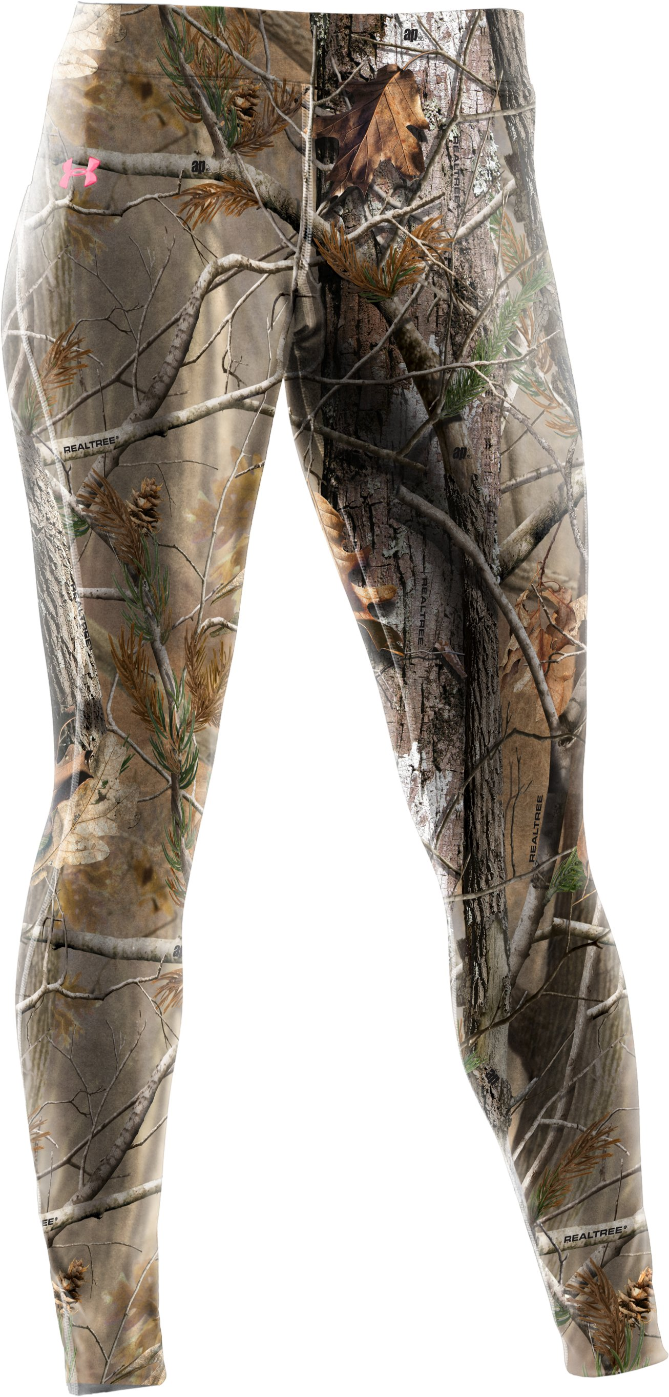 Women's UA EVO ColdGear® Camo Leggings, Realtree AP