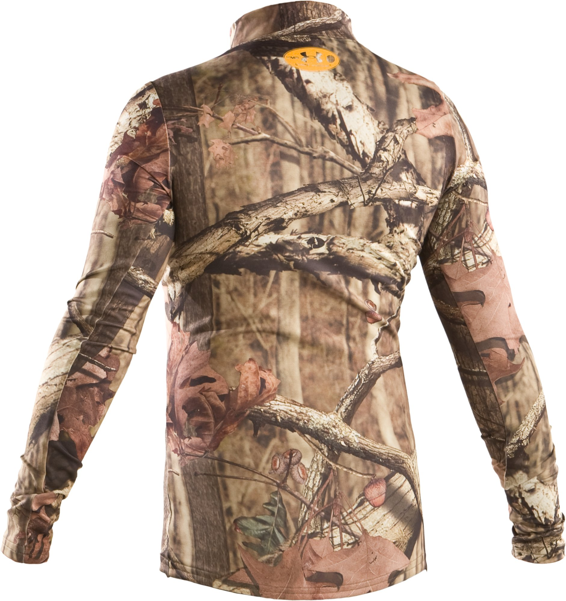 Boys' ColdGear® Evo Camo Mock, Mossy Oak Break-Up Infinity