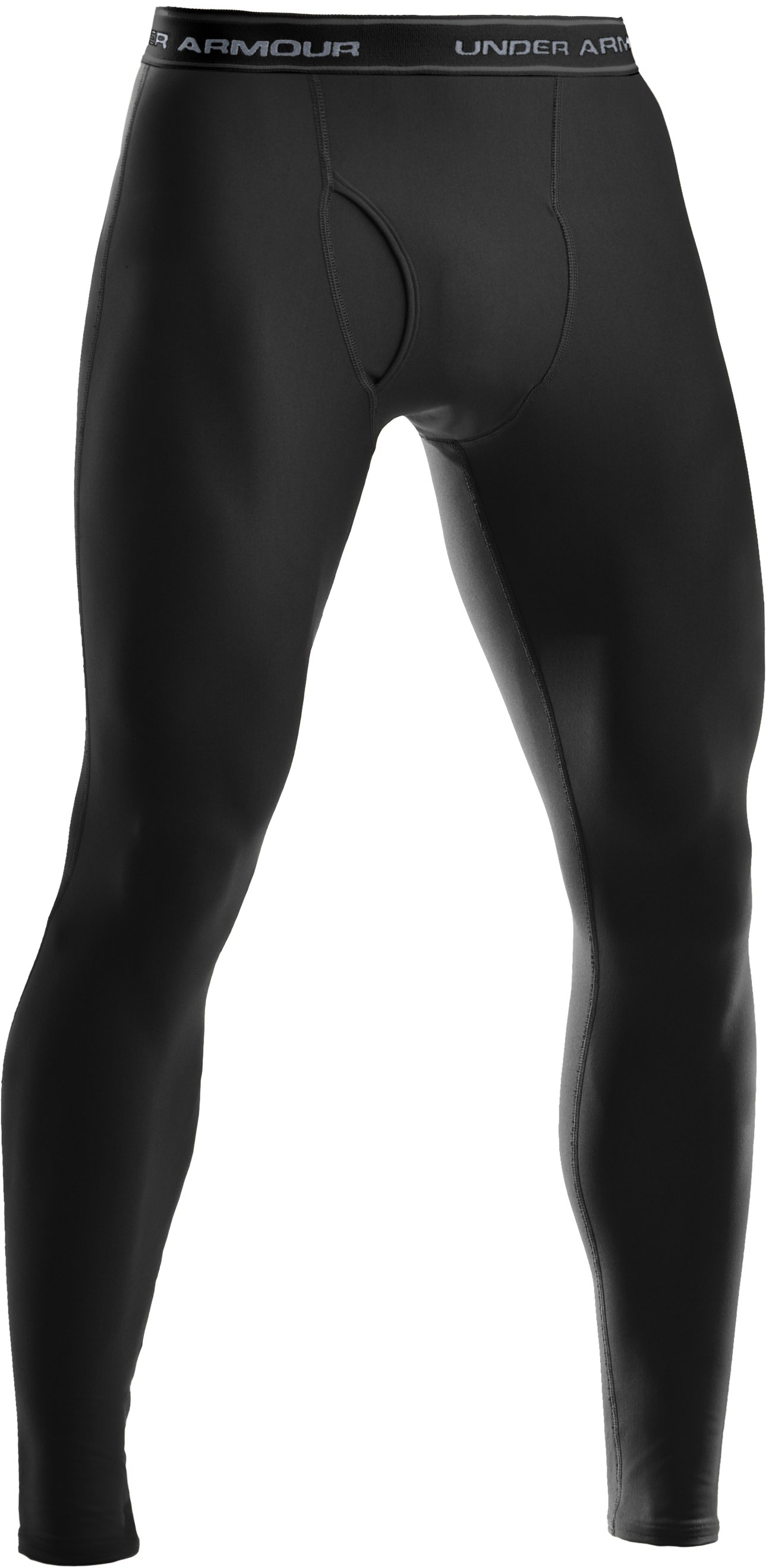 Men's Tactical ColdGear® Compression Leggings, Black
