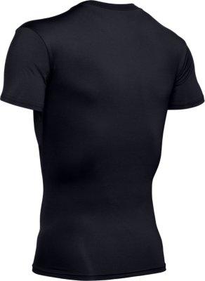 Under Armour Heatgear Mens Compression V Neck T-Shirt Gym Top 1216010 001