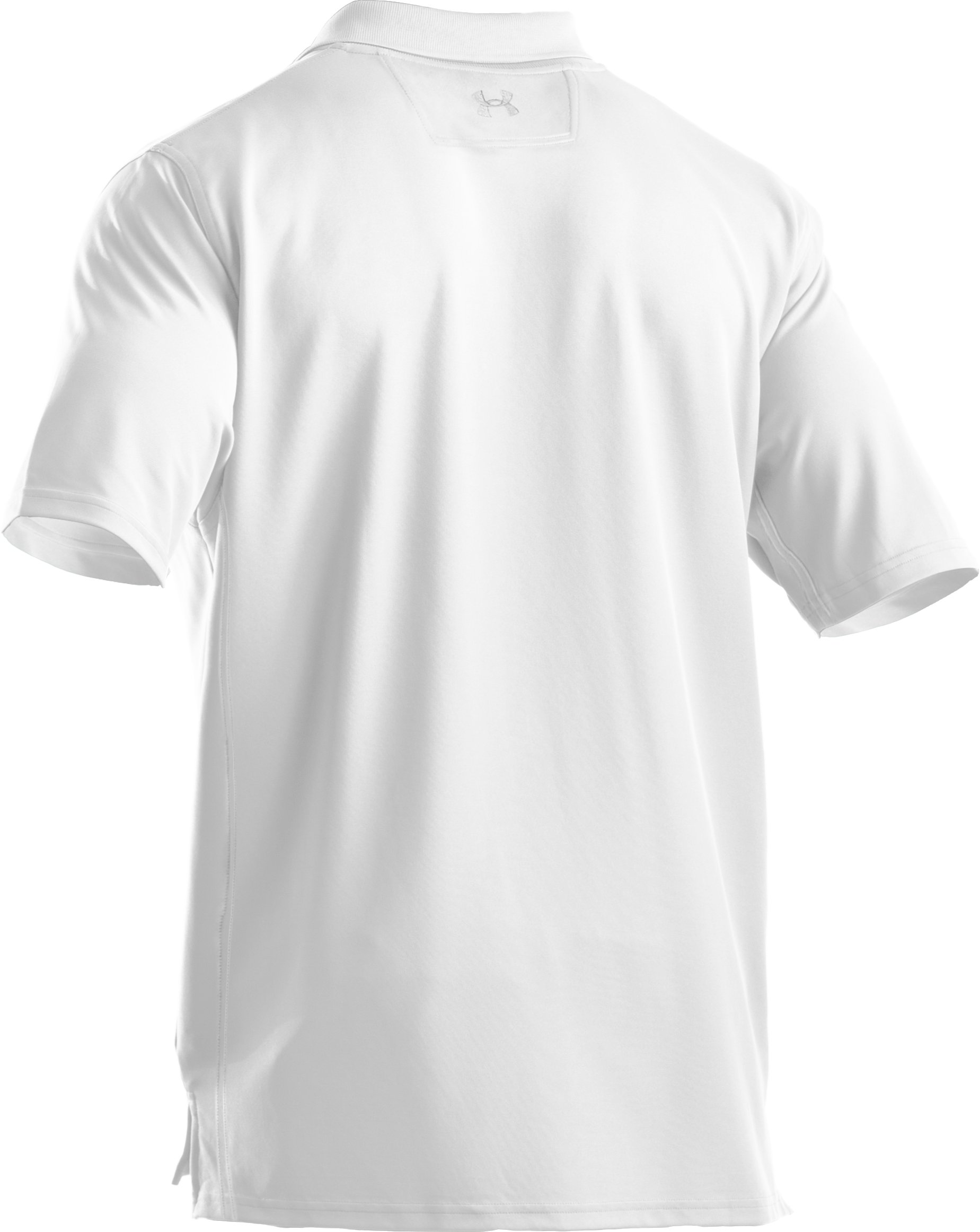 Men's UA Tactical Performance Polo, White