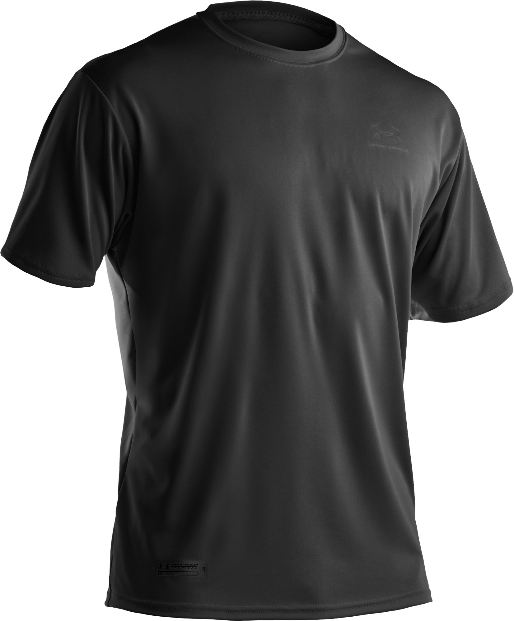 Men's UA HeatGear® Tactical Short Sleeve T-Shirt, Black ,