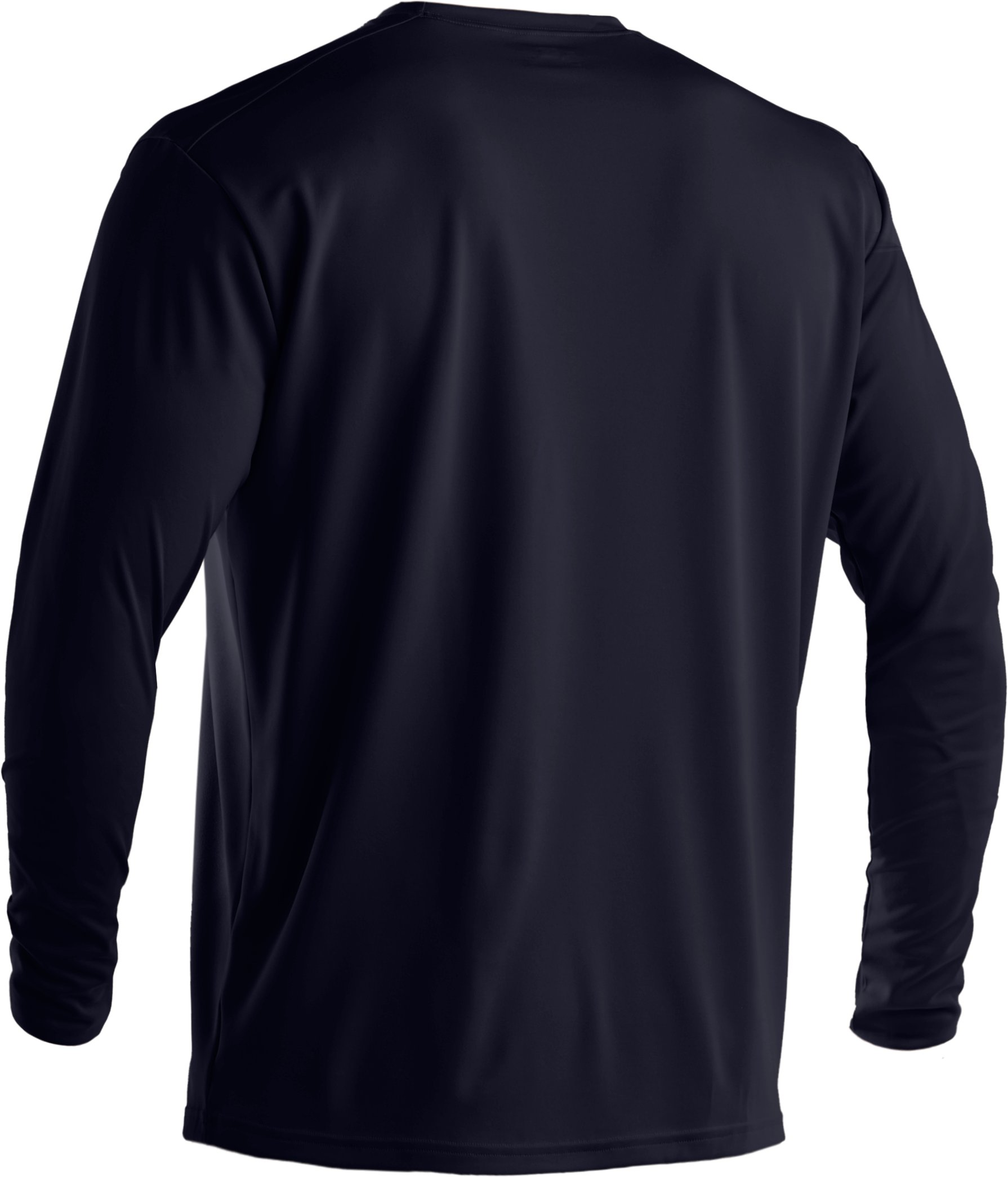 Men's UA HeatGear® Tactical Long Sleeve T-Shirt, Dark Navy Blue