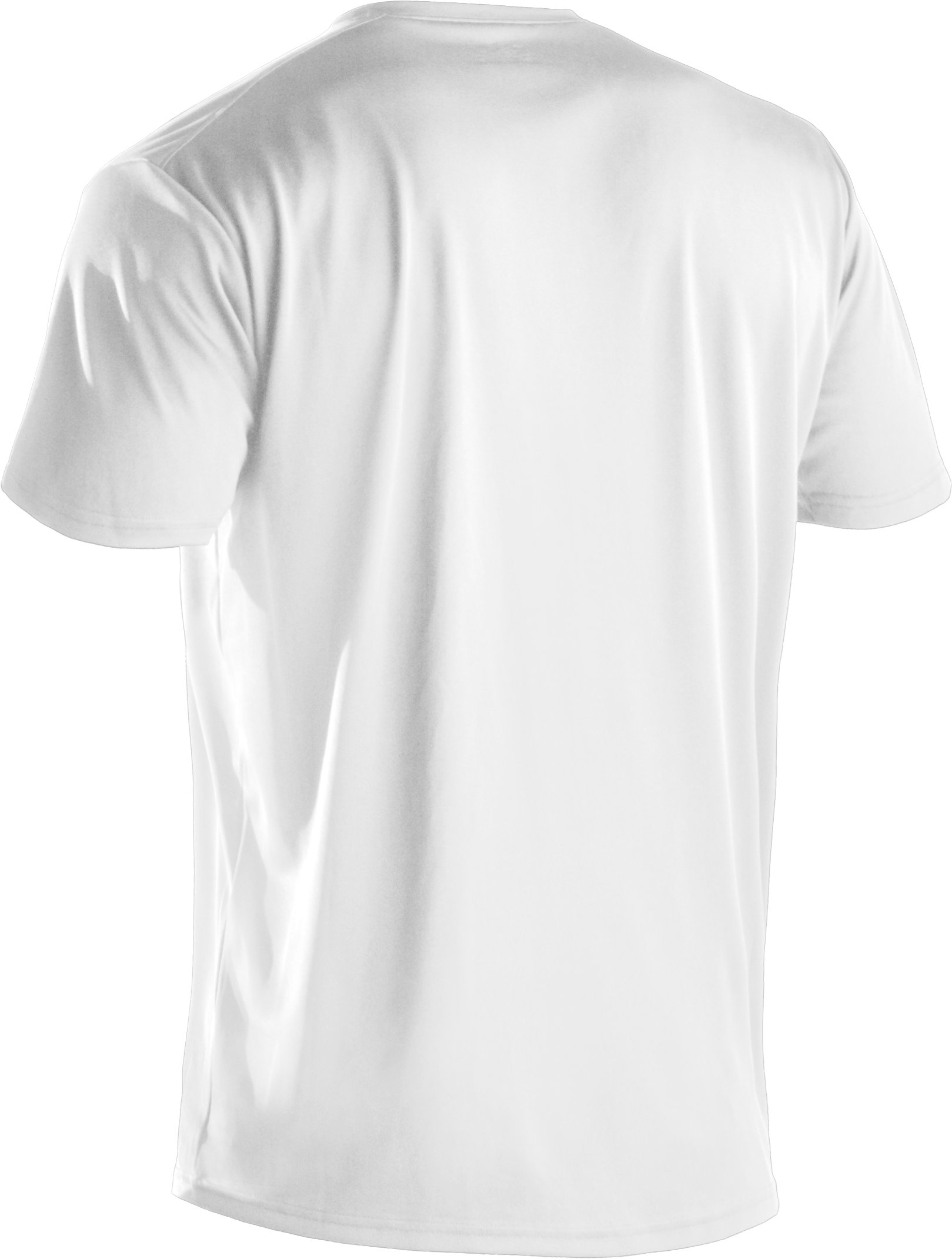 Men's UA HeatGear® Tactical V-Neck T-Shirt, White