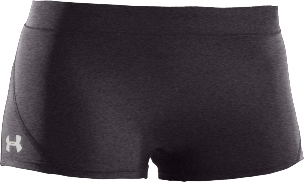 "Women's Ultra 2"" Compression Shorts, Carbon Heather,"