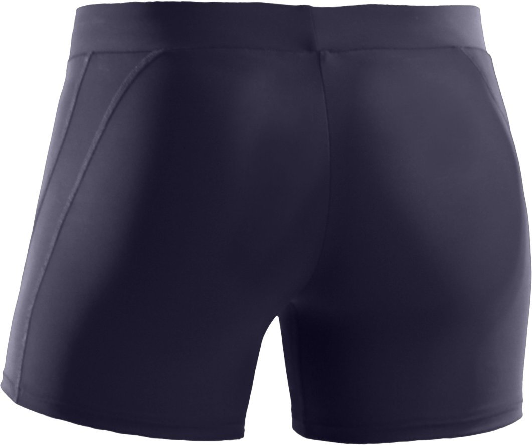 "Women's UA Ultra 4"" Compression Shorts, Midnight Navy"
