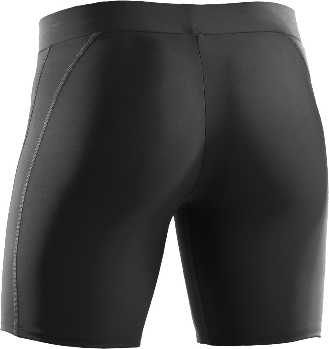"Women's UA Ultra 7"" Compression Shorts, Black"