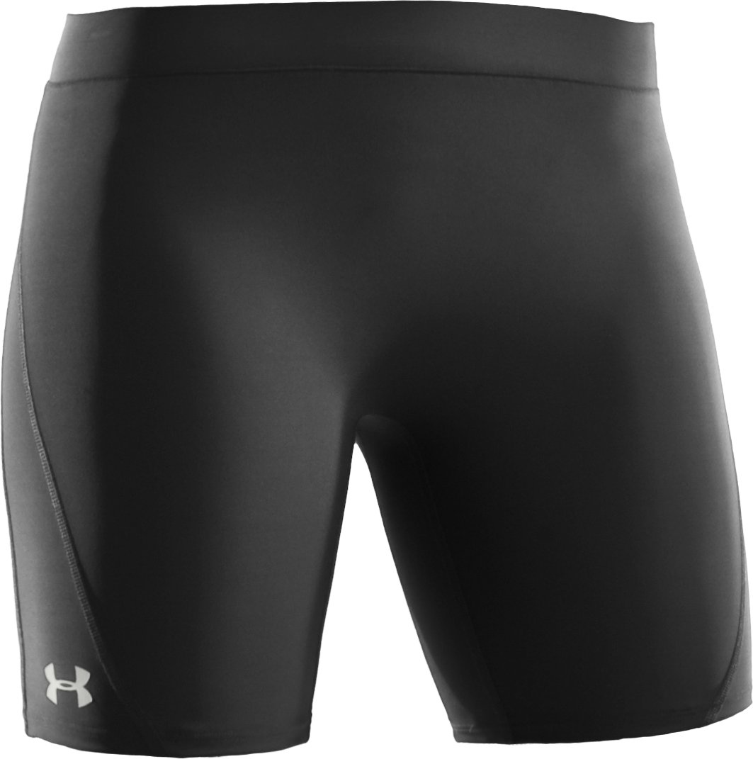 "Women's UA Ultra 7"" Compression Shorts, Black ,"