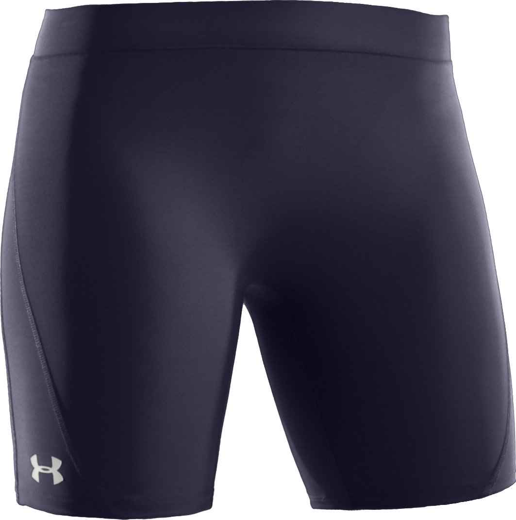 "Women's UA Ultra 7"" Compression Shorts, Midnight Navy"