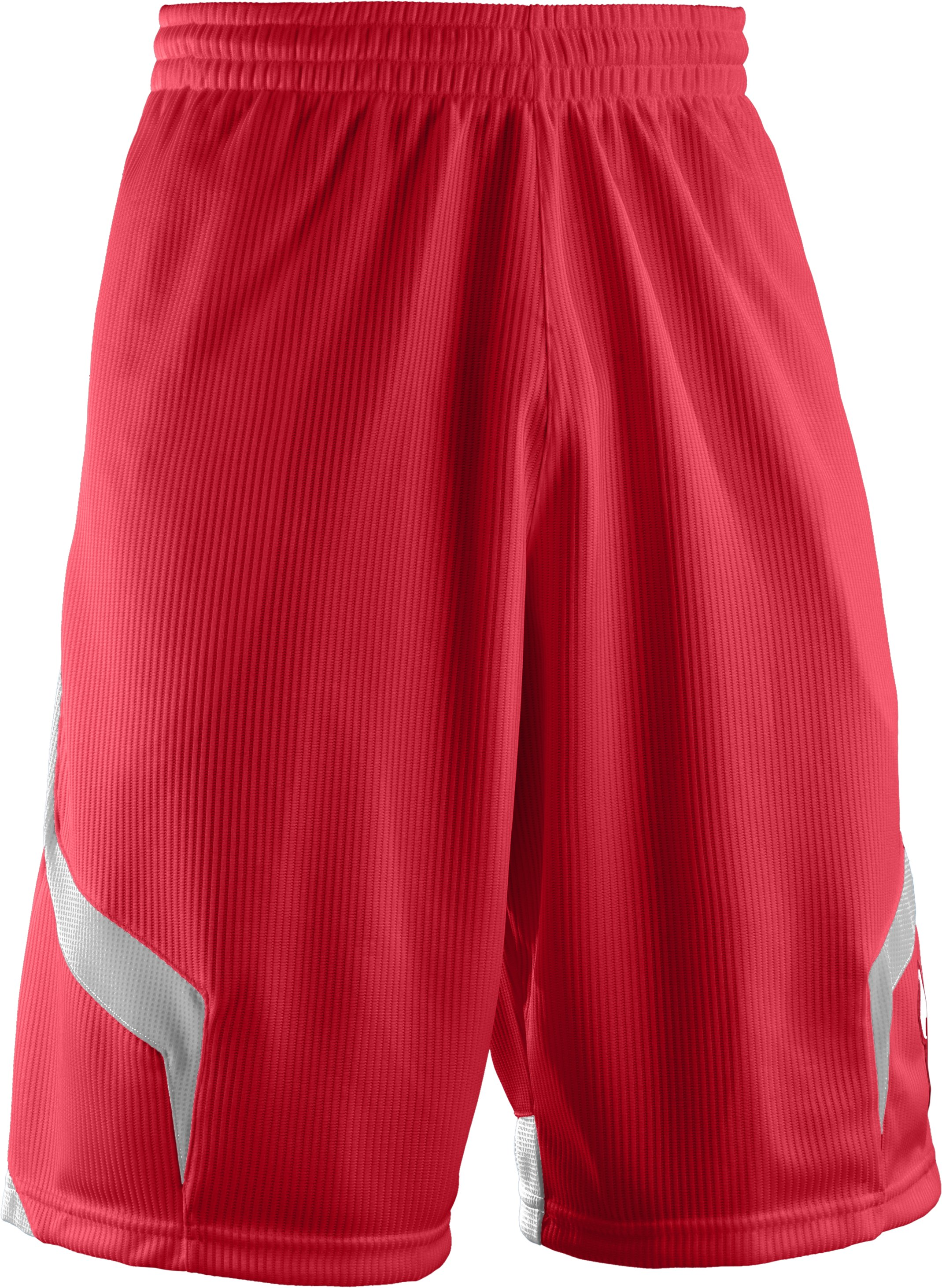 "Men's UA Valkyrie 12"" Basketball Short, Red, undefined"