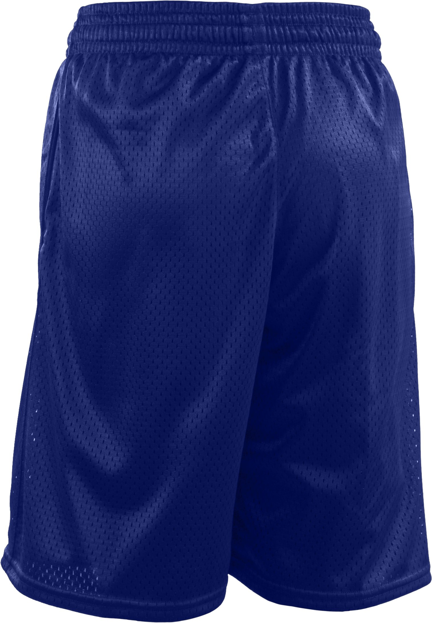 Boys' UA Dominate Mesh Shorts, Royal