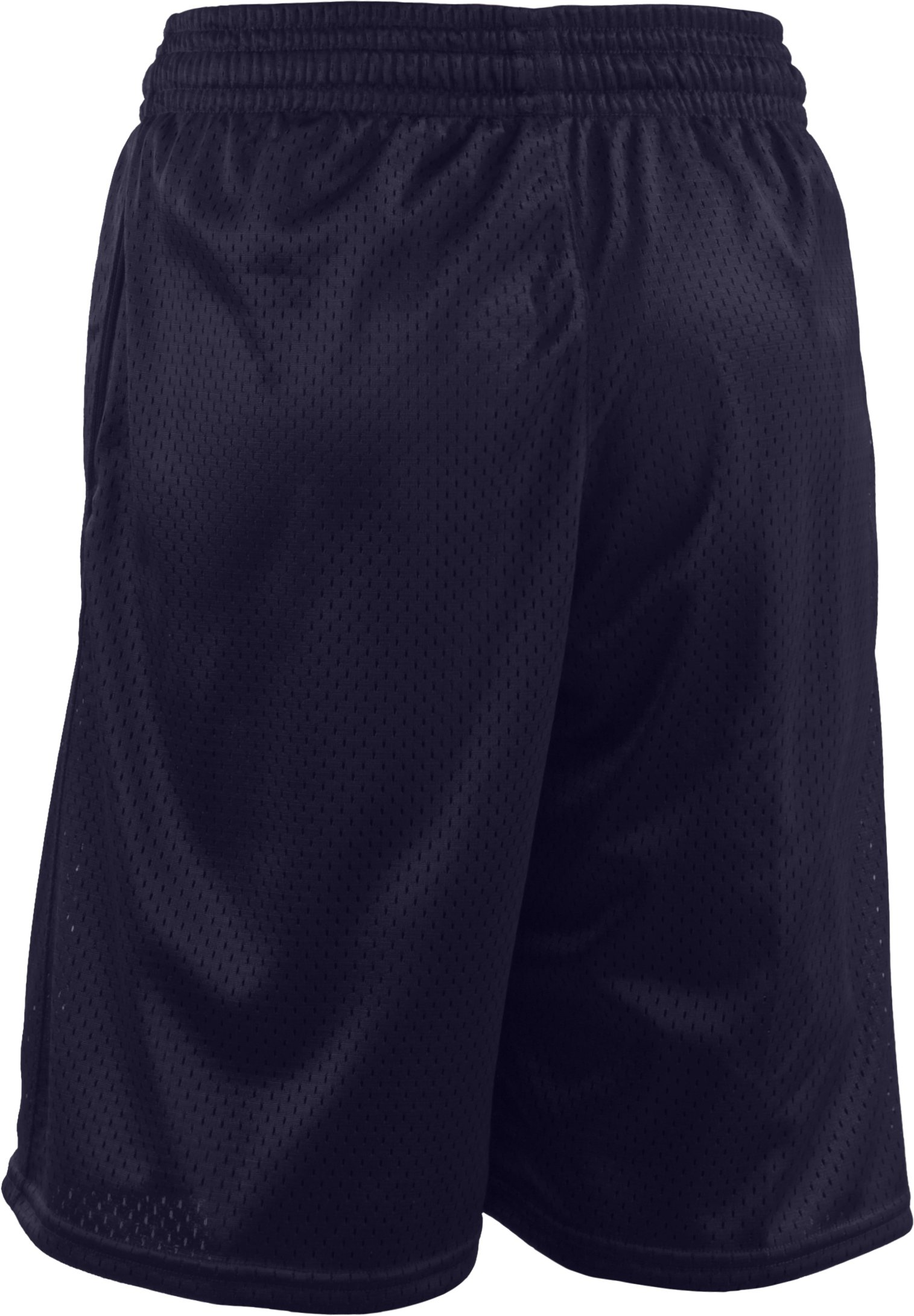 Boys' UA Dominate Mesh Shorts, Midnight Navy
