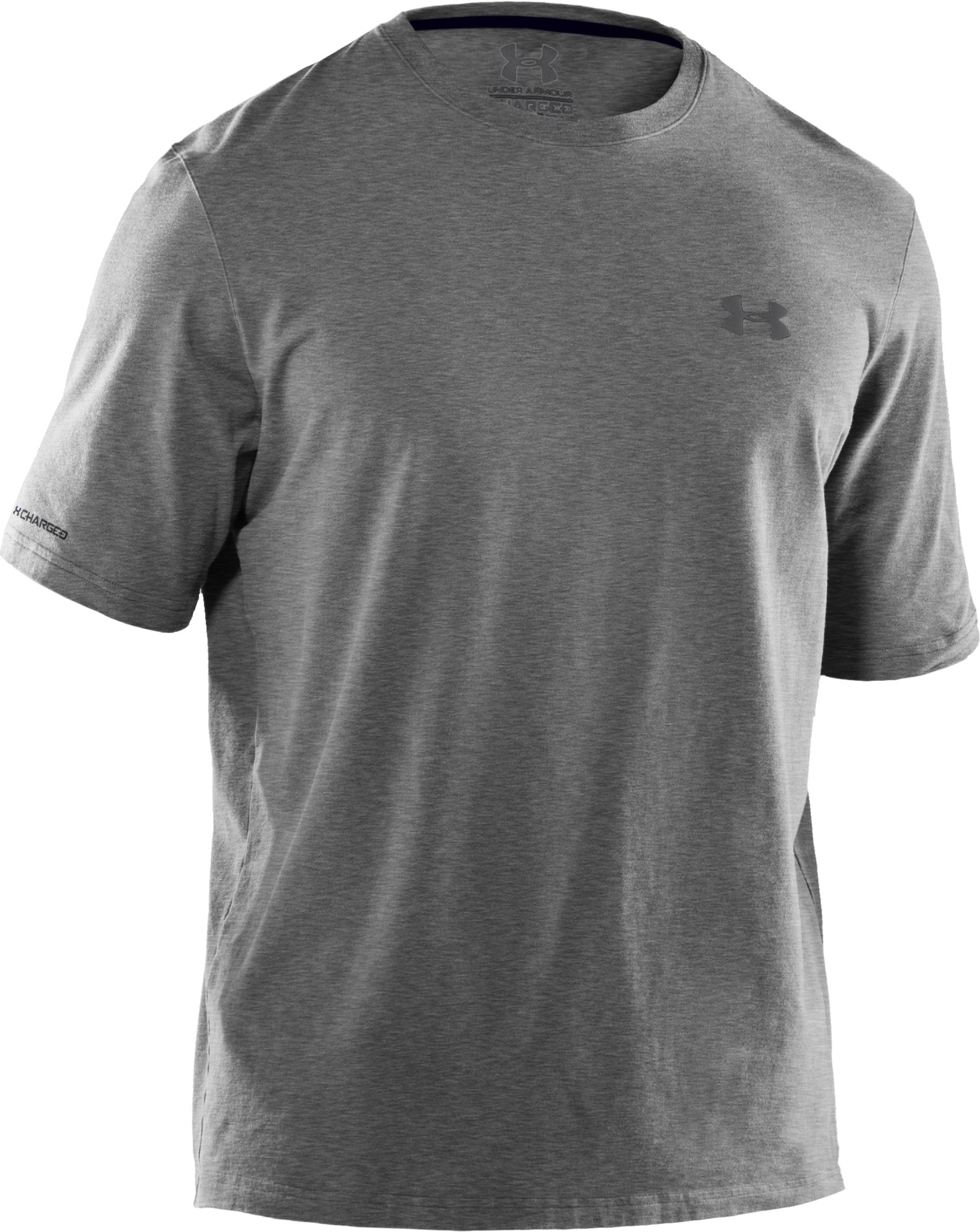 Men's Charged Cotton® T-Shirt, True Gray Heather