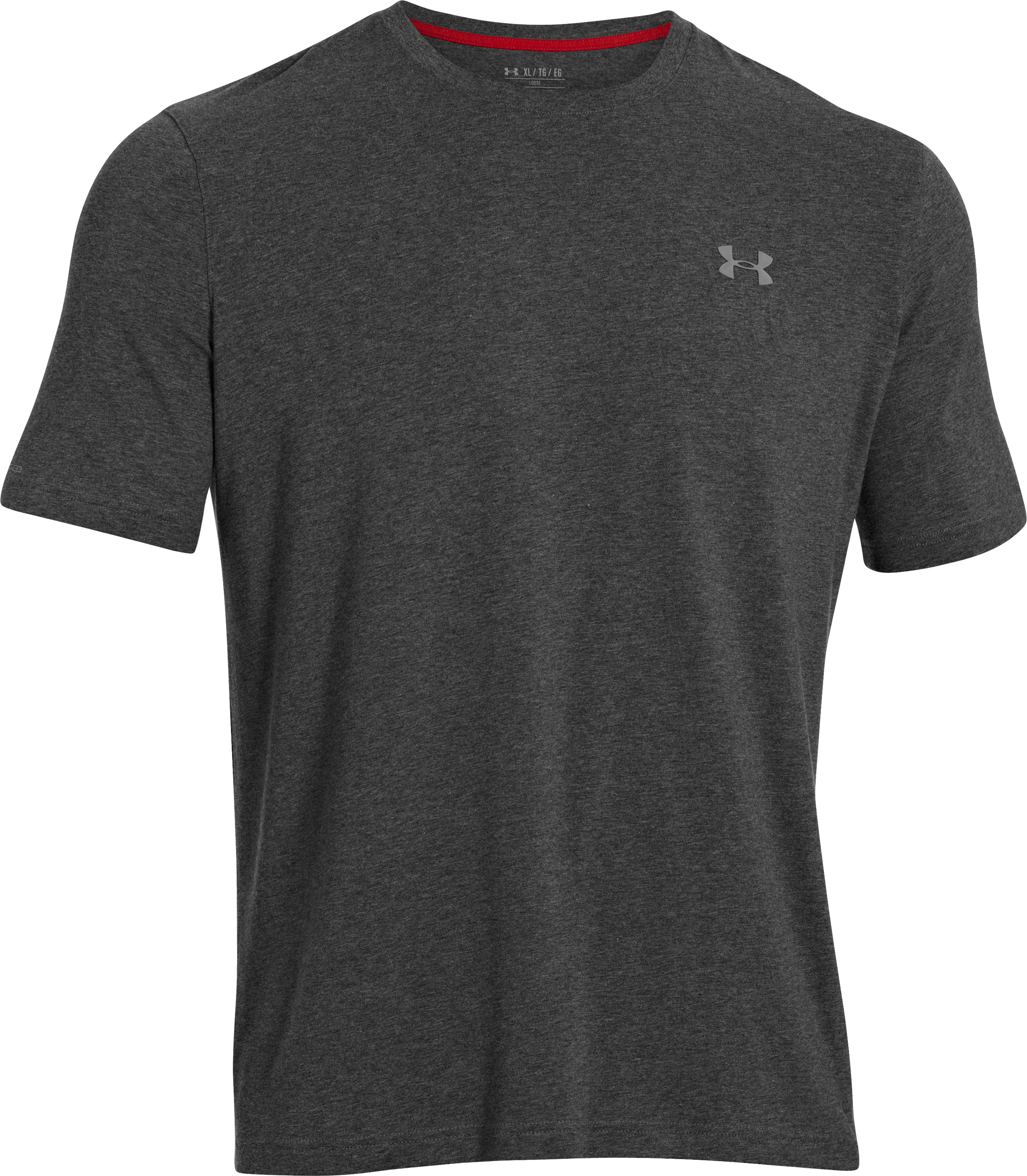 Men's Charged Cotton® T-Shirt, Carbon Heather, undefined