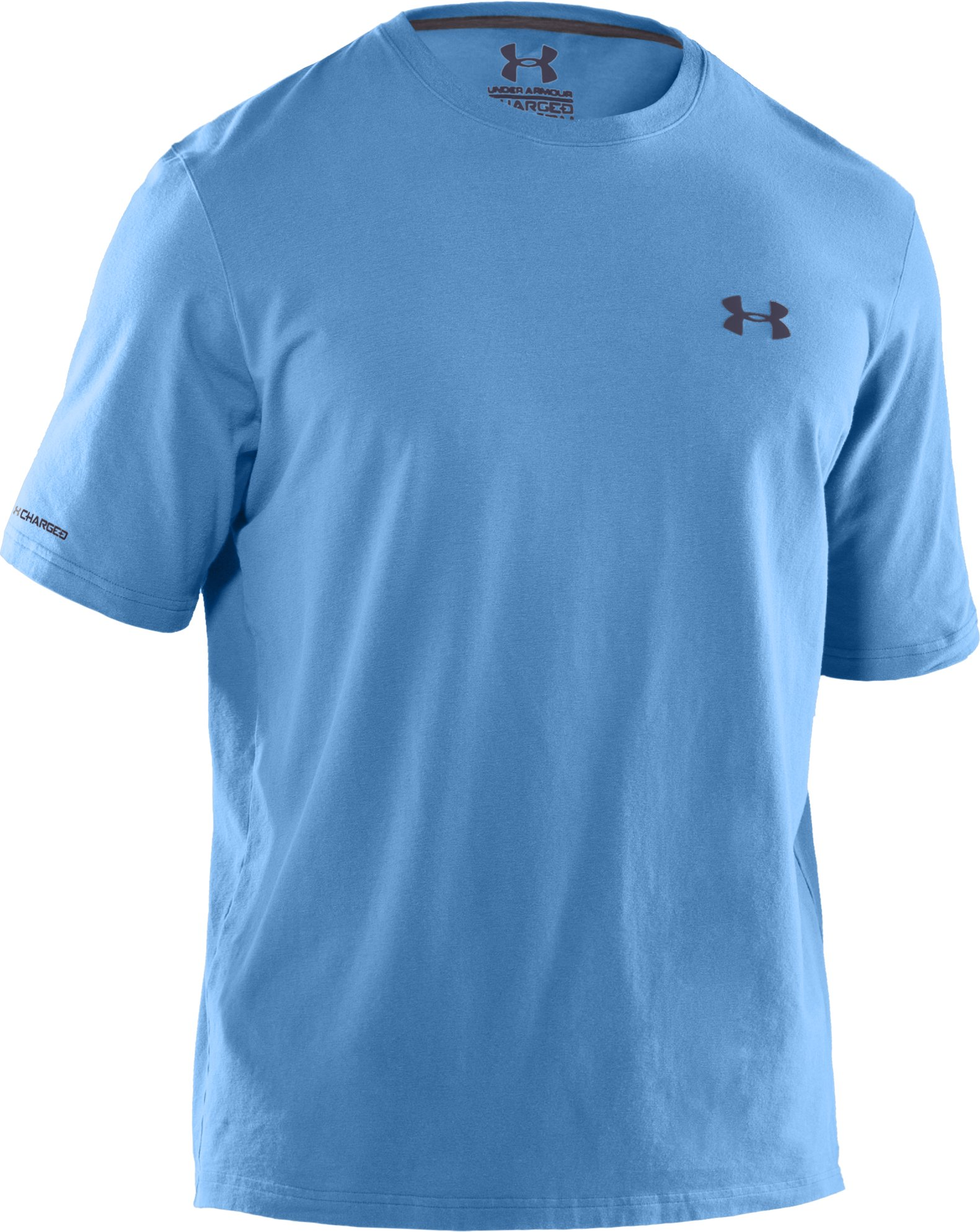 Men's Charged Cotton® T-Shirt, Carolina Blue, undefined