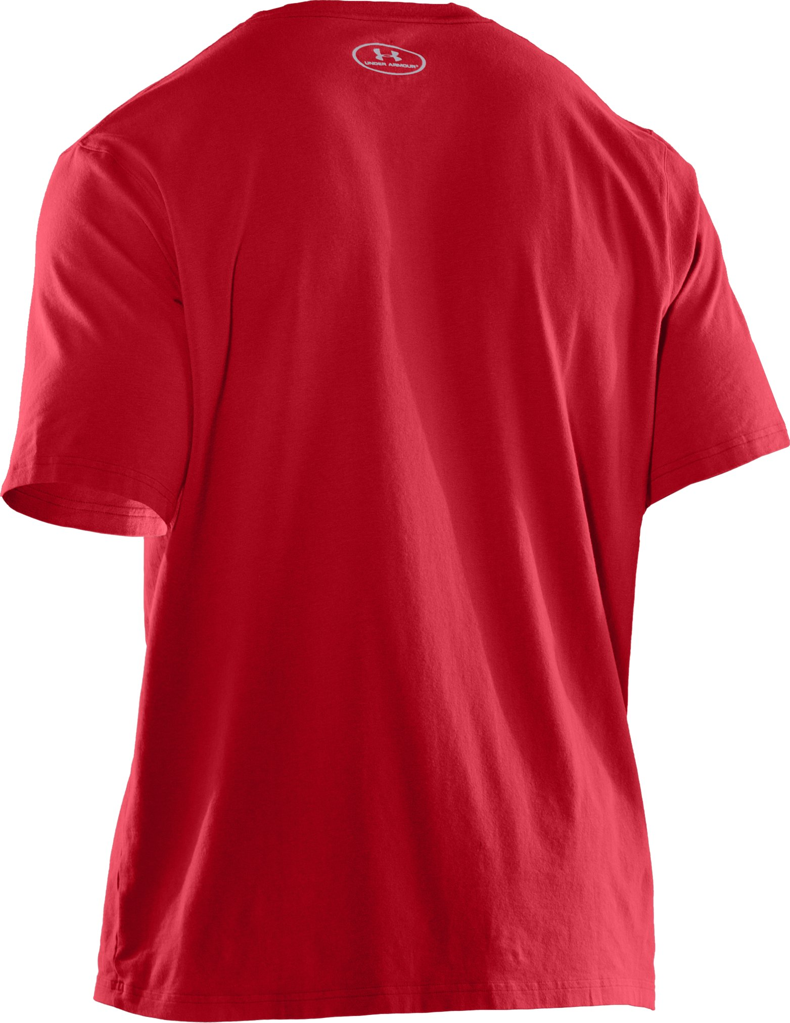 Men's Charged Cotton® T-Shirt, Red, undefined