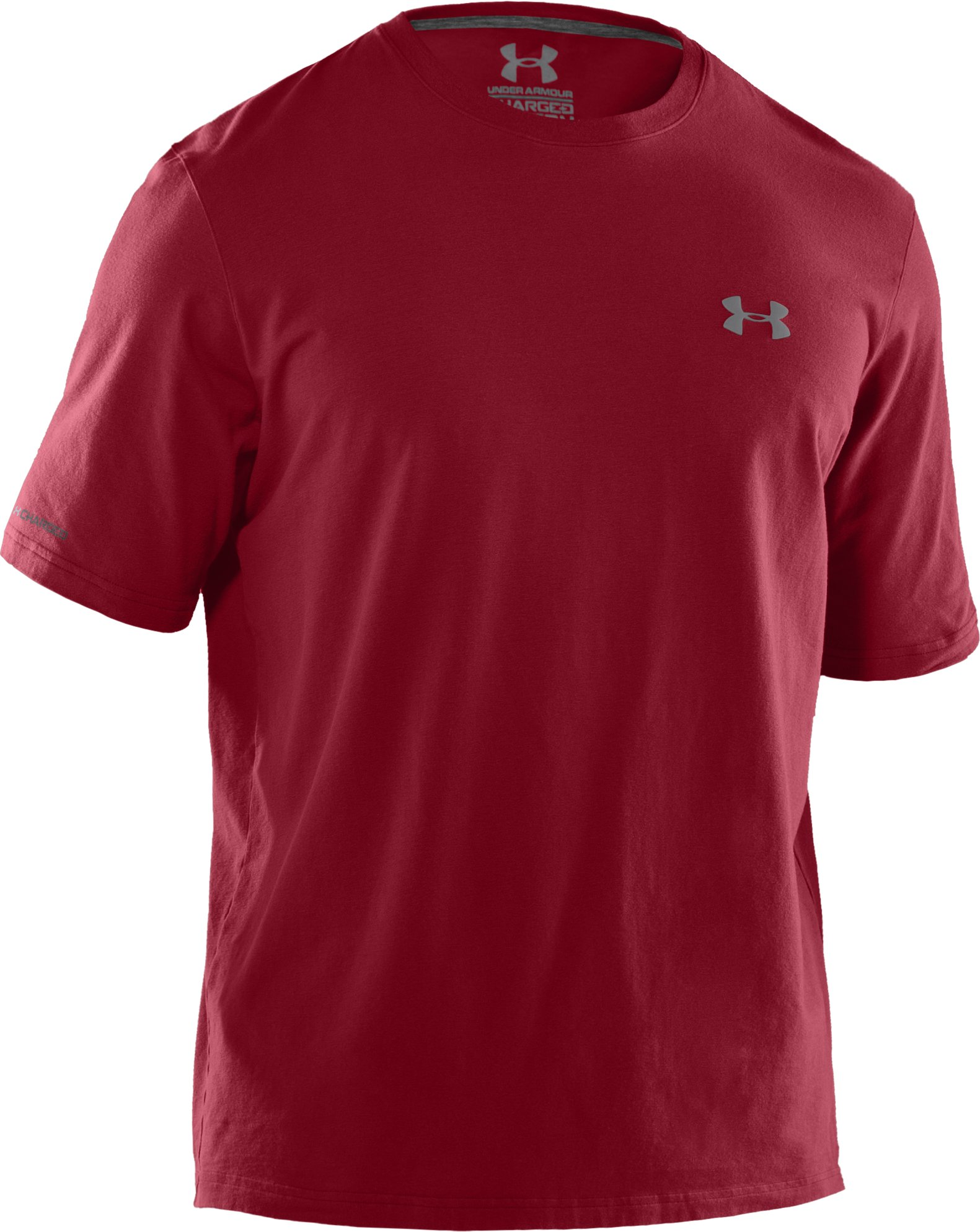 Men's Charged Cotton® T-Shirt, Crimson