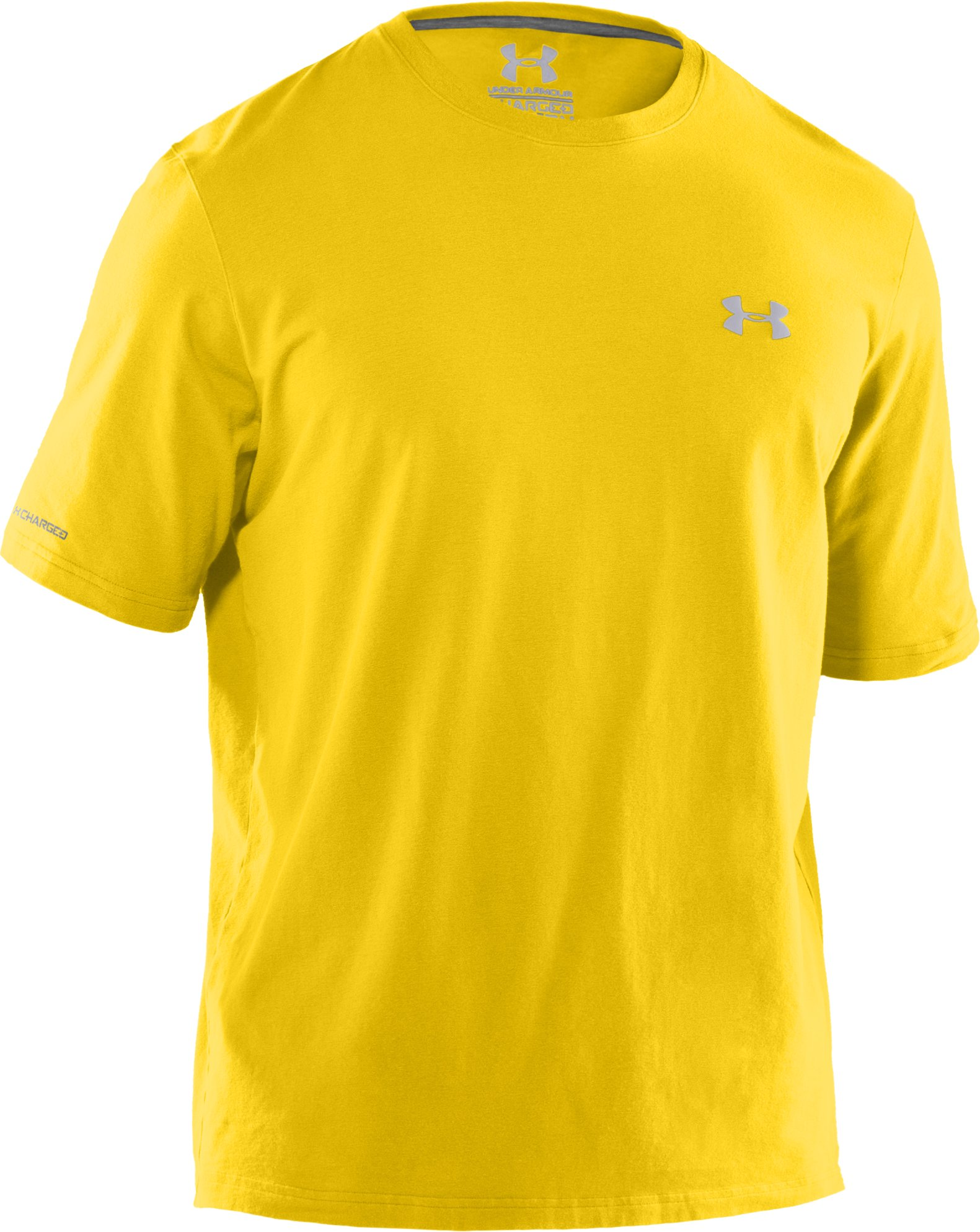 Men's Charged Cotton® T-Shirt, Taxi, undefined