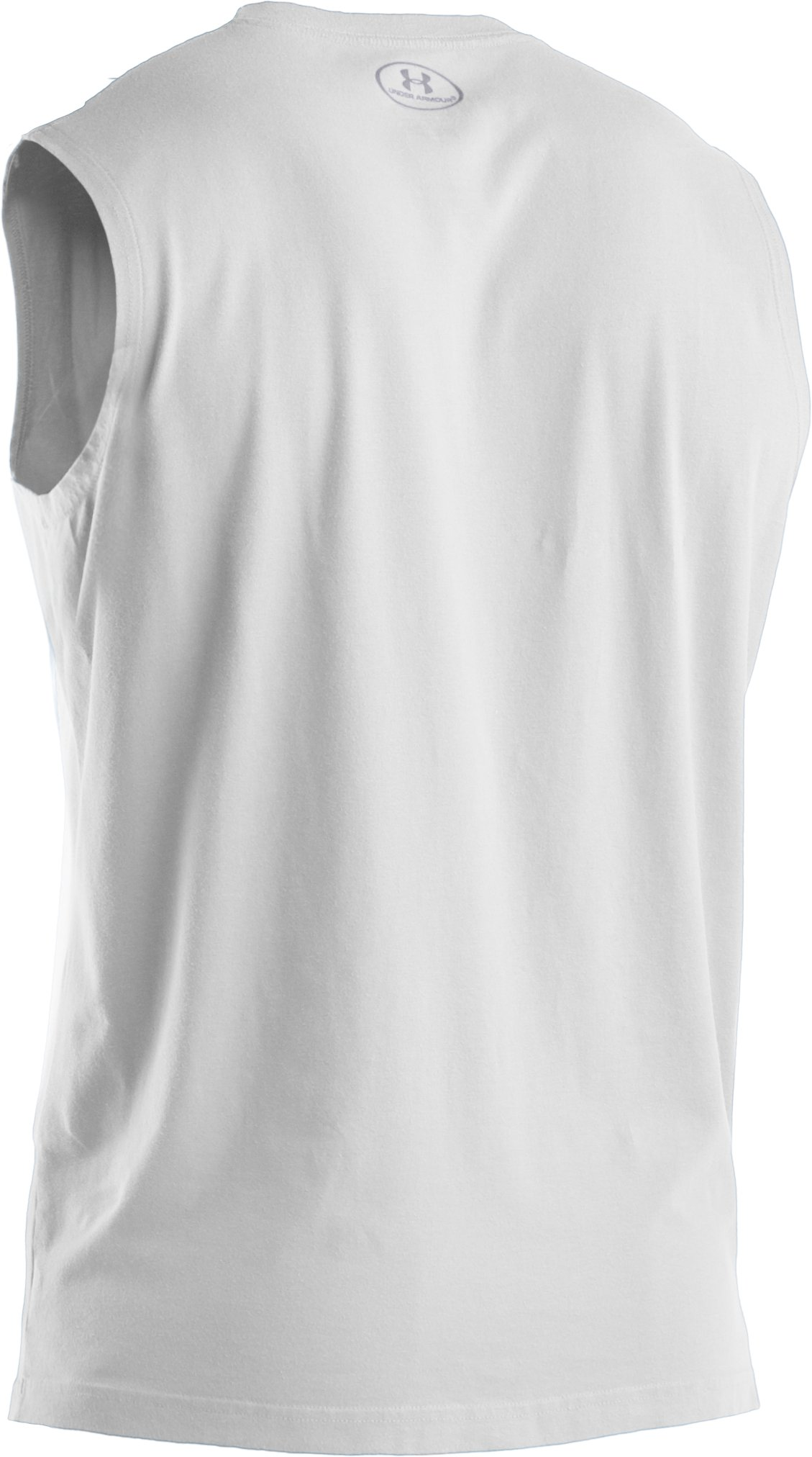 Men's Charged Cotton® Sleeveless T-shirt, White