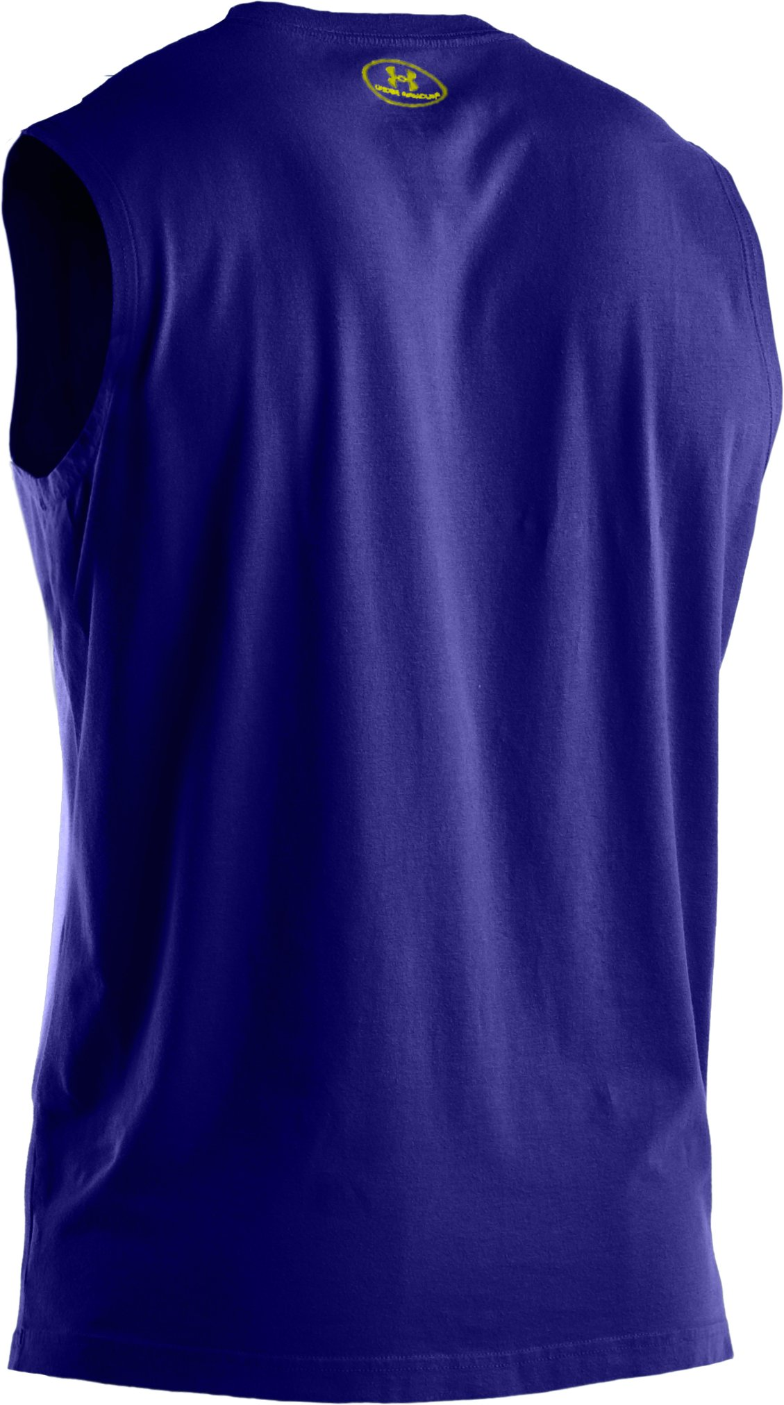 Men's Charged Cotton® Sleeveless T-shirt, Caspian, undefined