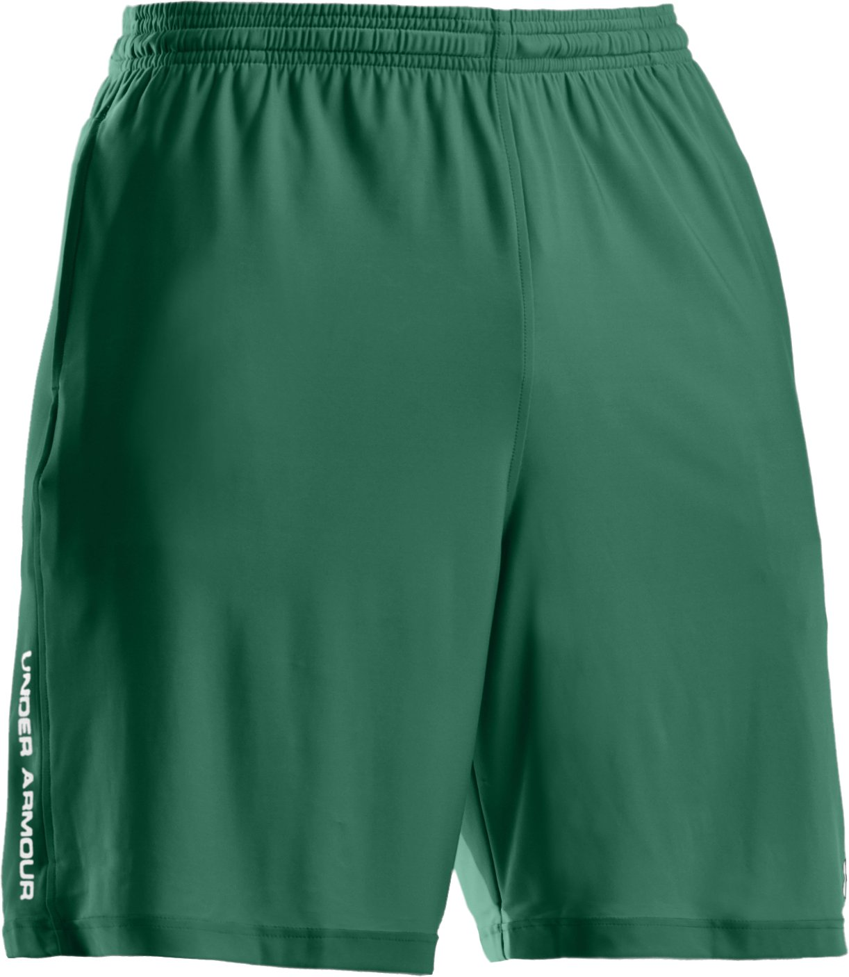 "Men's UA 9"" Microshorts II, Forest Green"