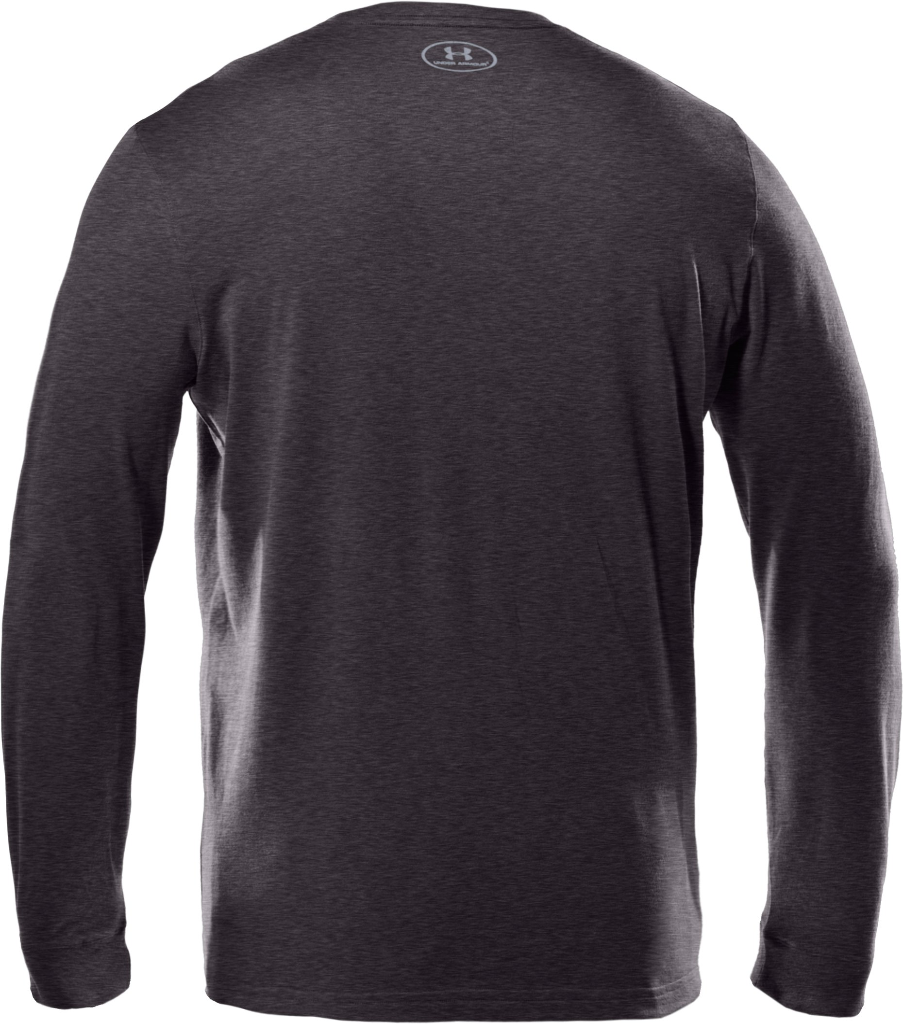 Men's UA Charged Cotton® Long Sleeve T-Shirt, Carbon Heather